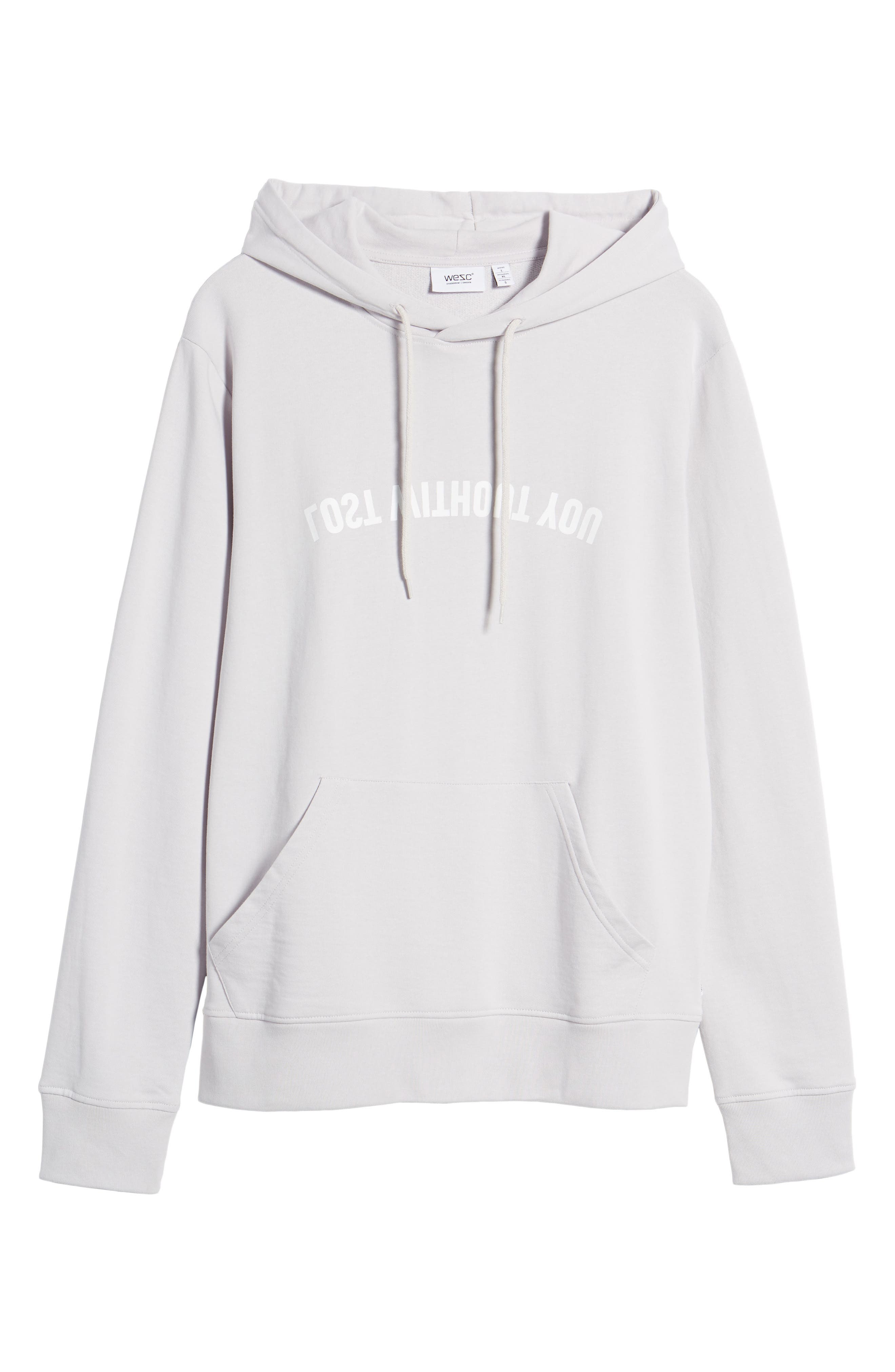 Mike Mirror Graphic Hoodie,                             Alternate thumbnail 6, color,                             Light Lilac