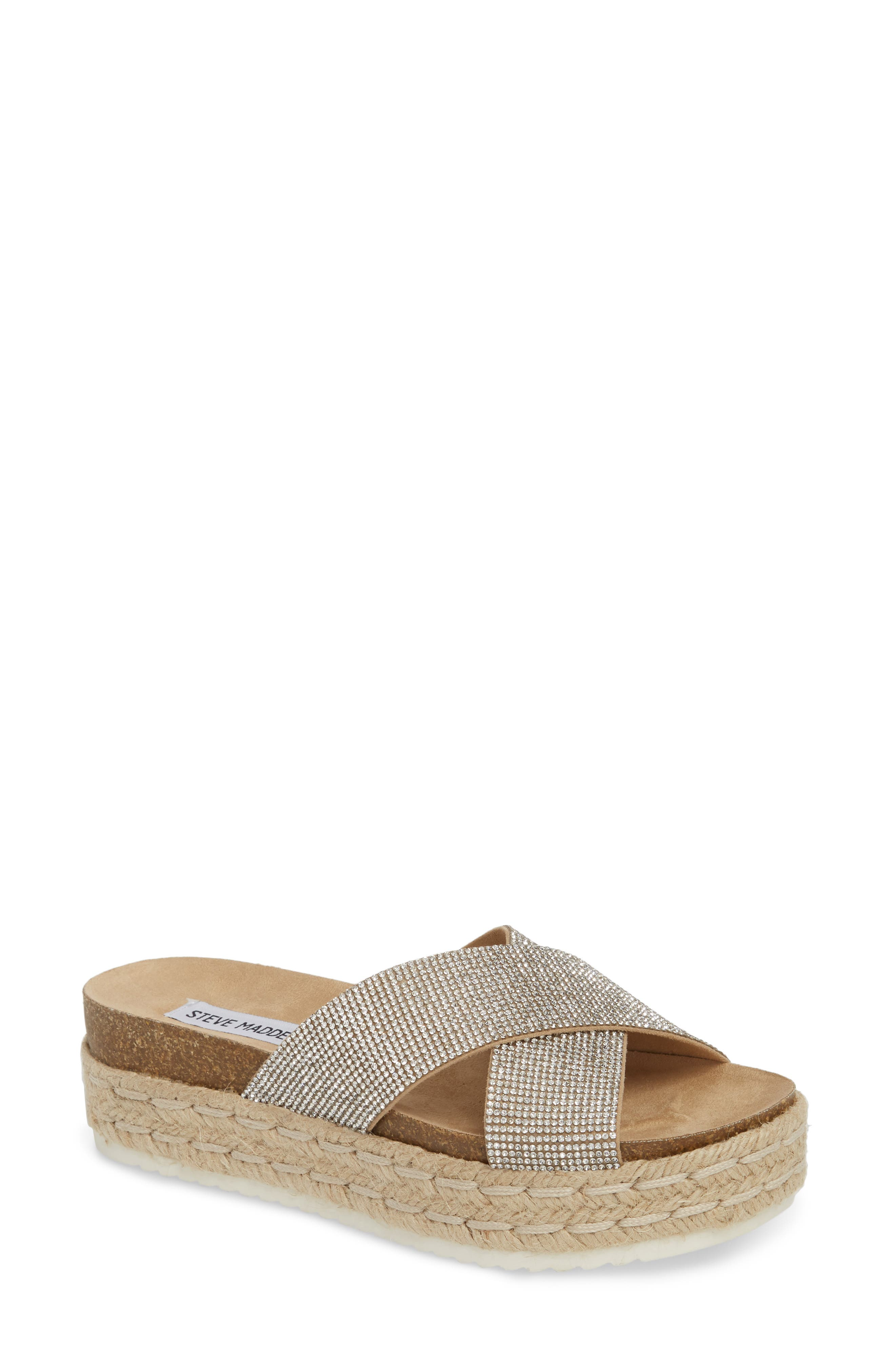 Sandals for Women On Sale, Straw, Leather, 2017, 3.5 5.5 7.5 8.5 Tod's