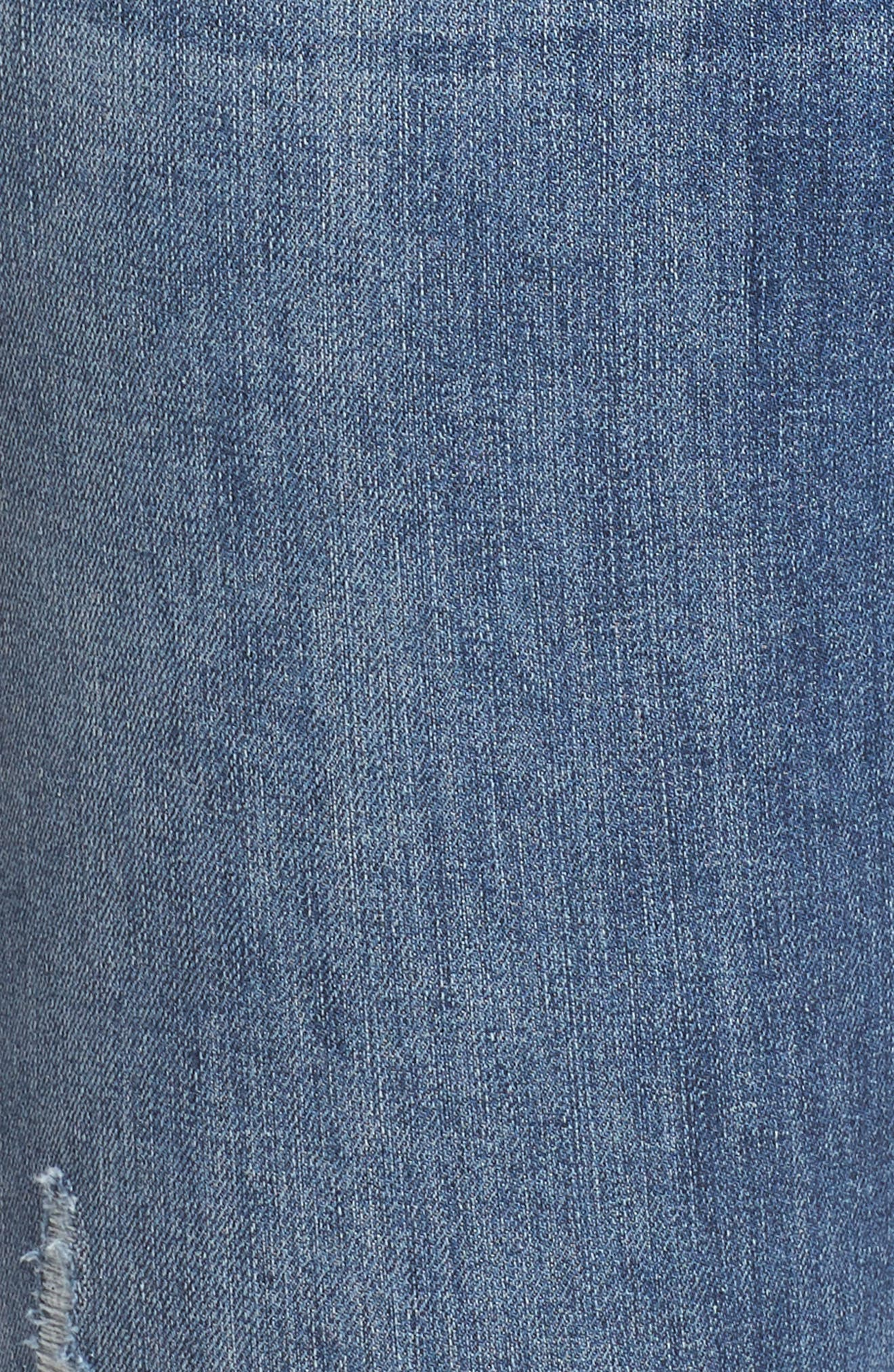 Reese Distressed Ankle Straight Leg Jeans,                             Alternate thumbnail 6, color,                             Appointed