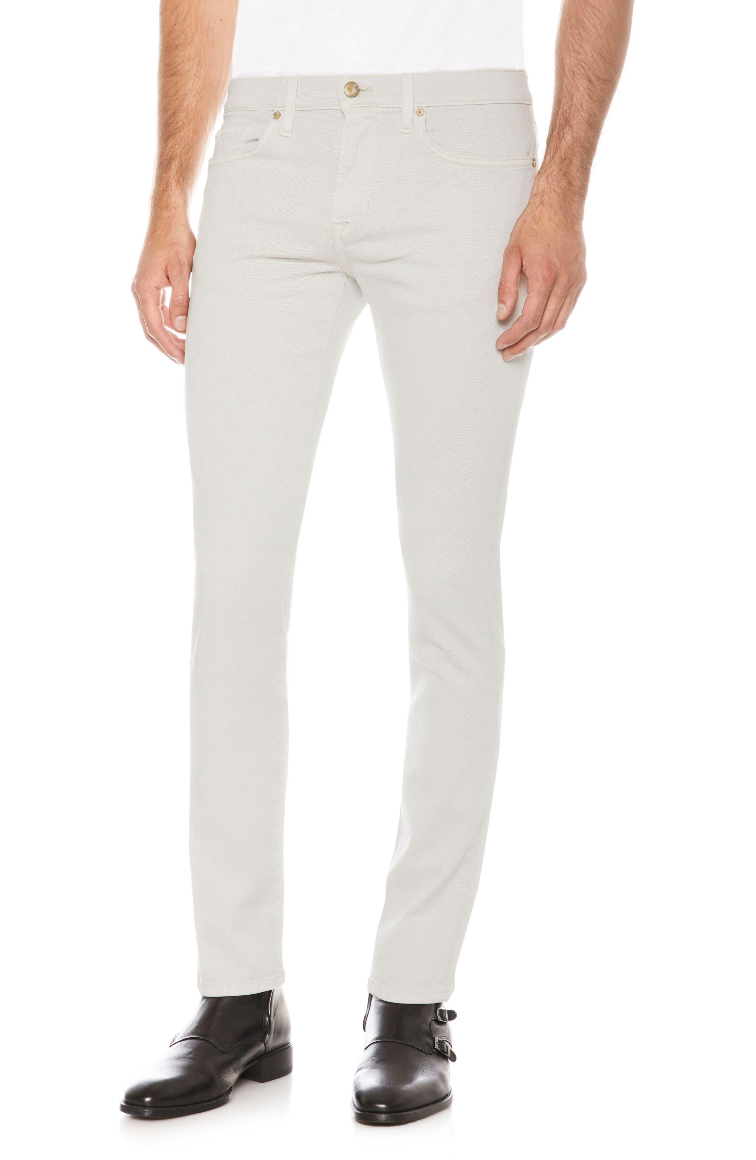 Slim Fit Jeans,                         Main,                         color, Mancini