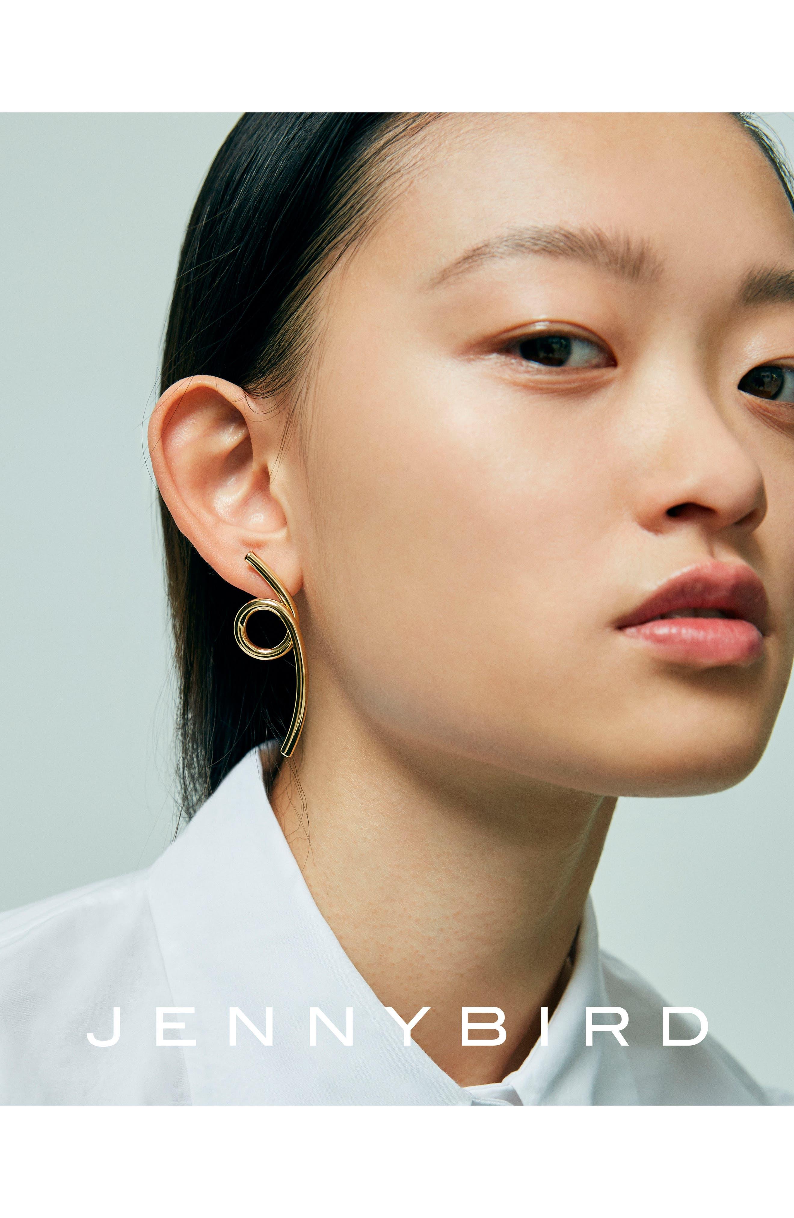 Coil Earrings,                             Alternate thumbnail 3, color,                             High Polish Gold