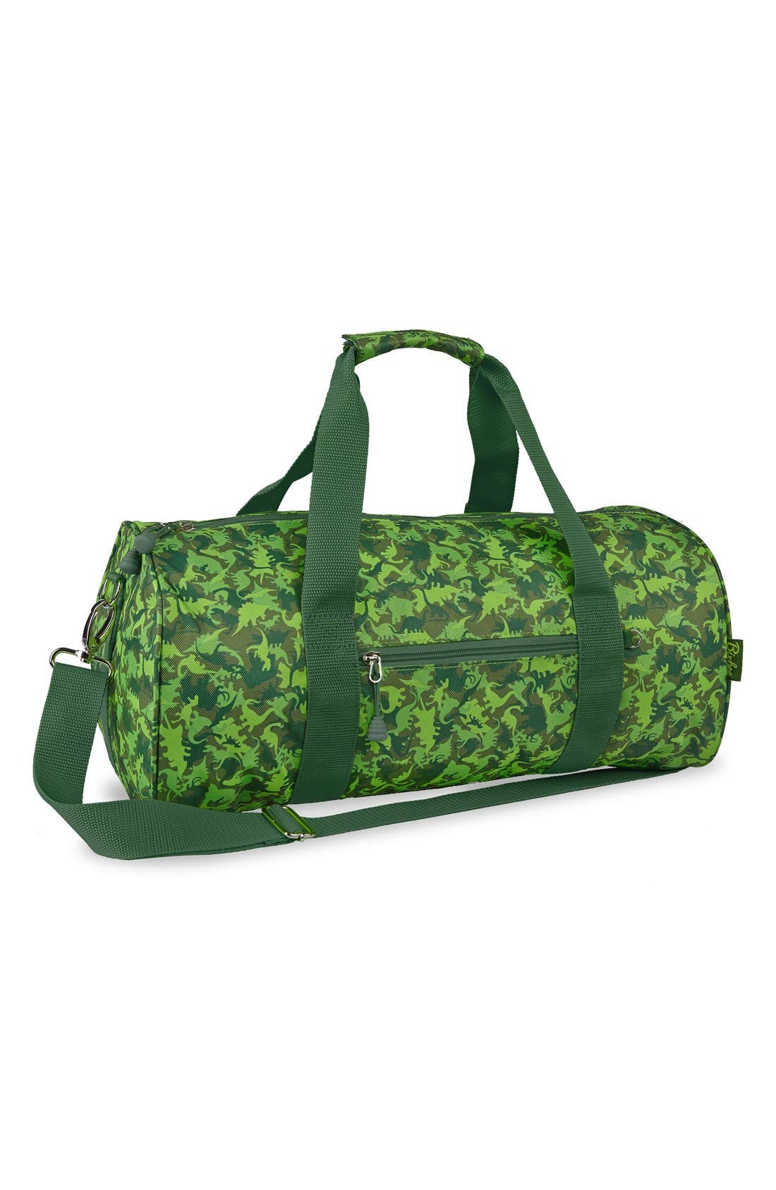 BIXBEE Large Dino Camo Sports Duffel Bag