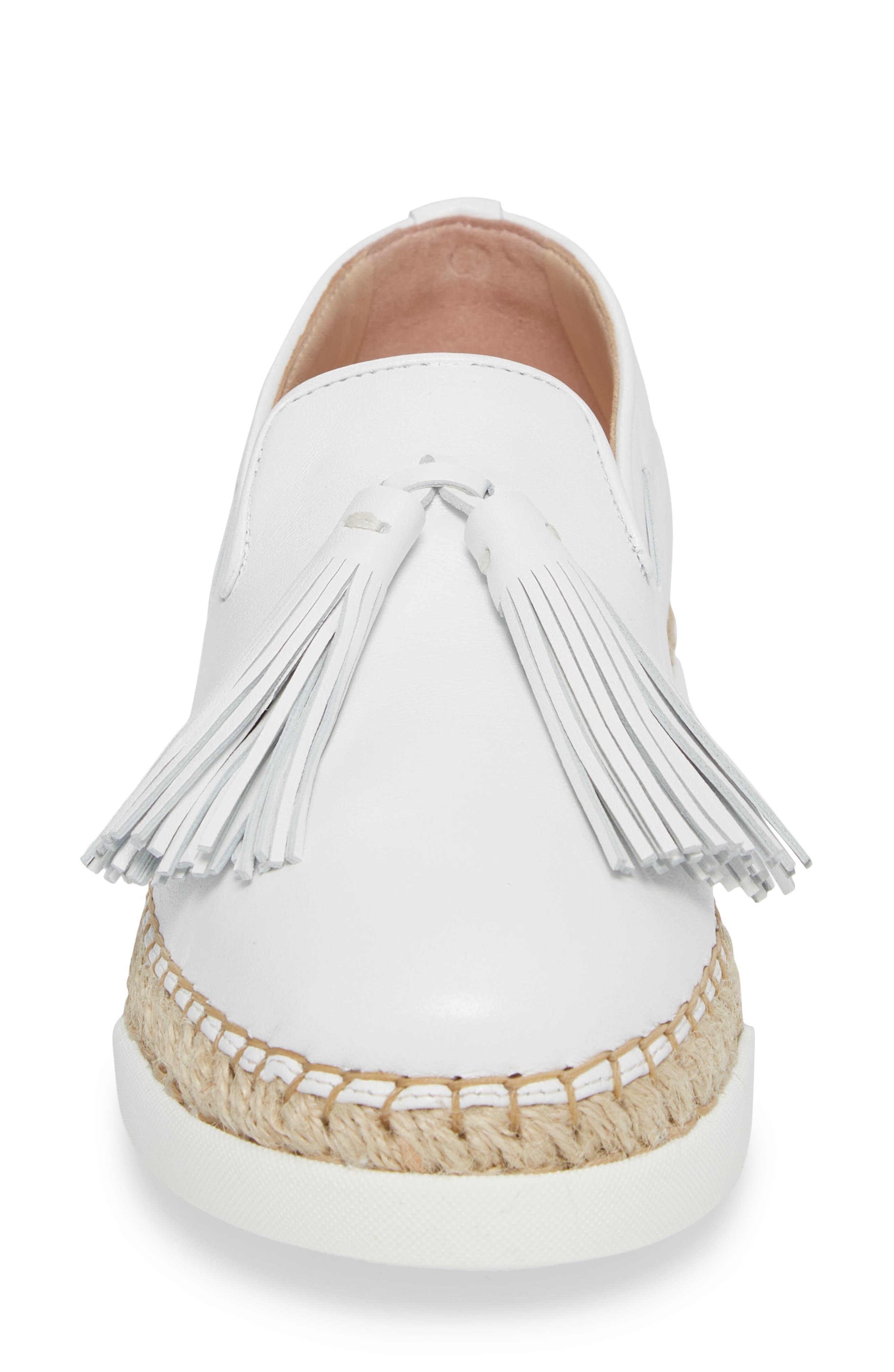 Alternate Image 4  - Tod's Tassel Espadrille Loafer (Women)