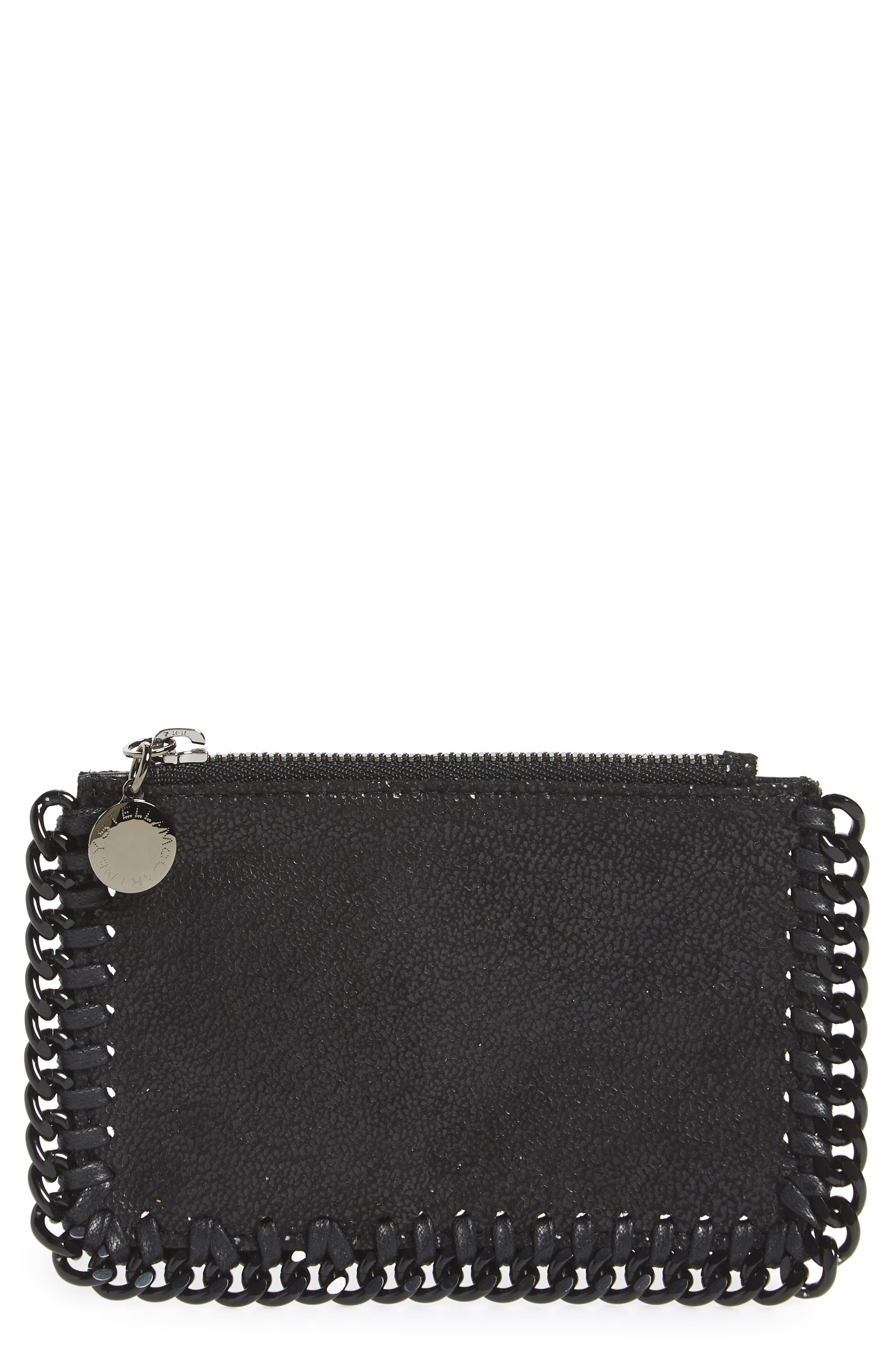 Stella McCartney Falabella Shaggy Deer Card Case