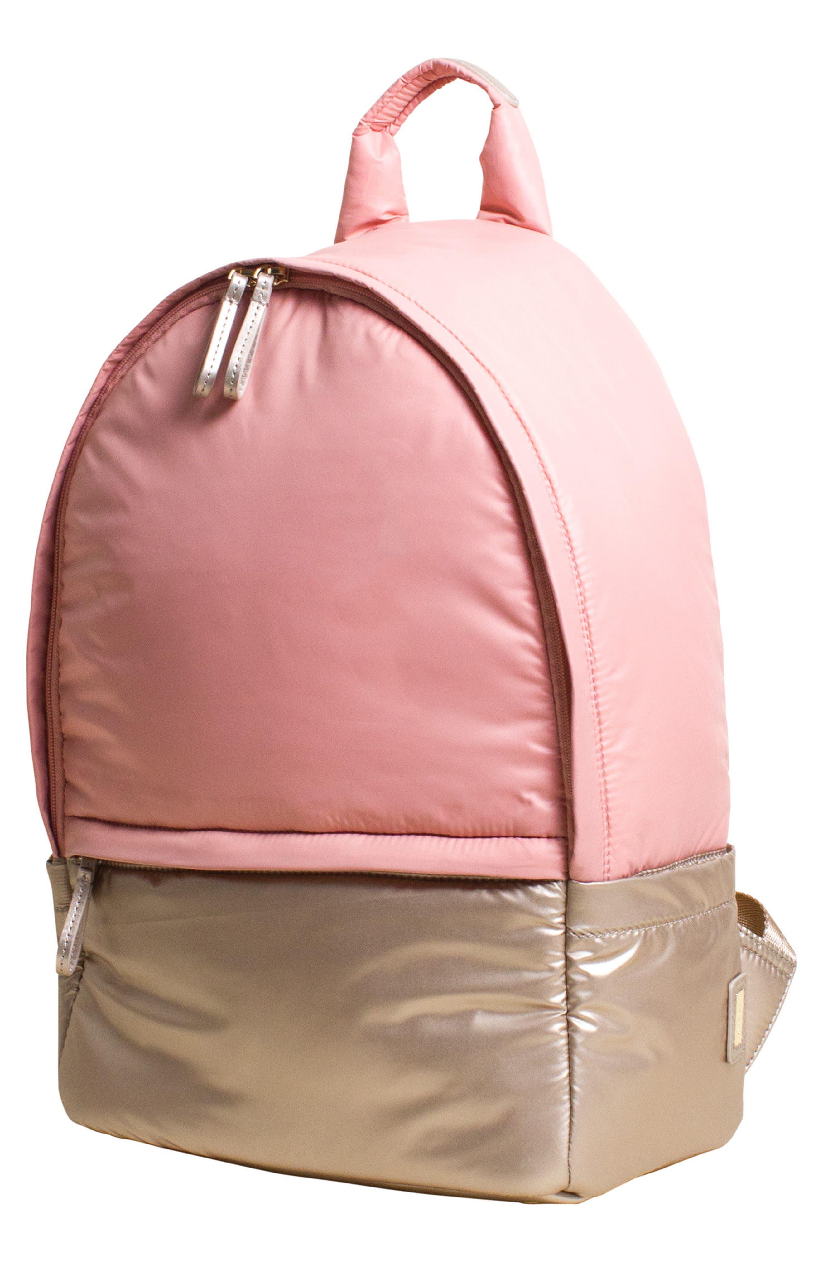 Stratus Waterproof Backpack,                             Alternate thumbnail 5, color,                             Pink