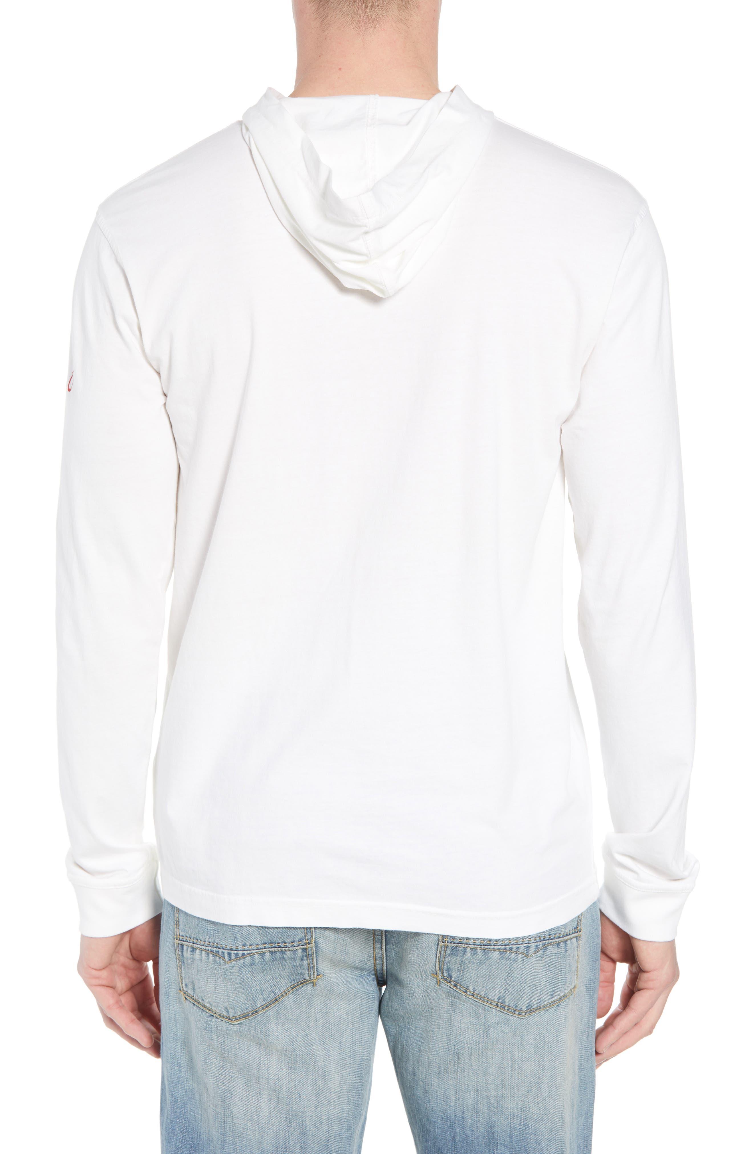 Eller Hooded T-Shirt,                             Alternate thumbnail 2, color,                             White