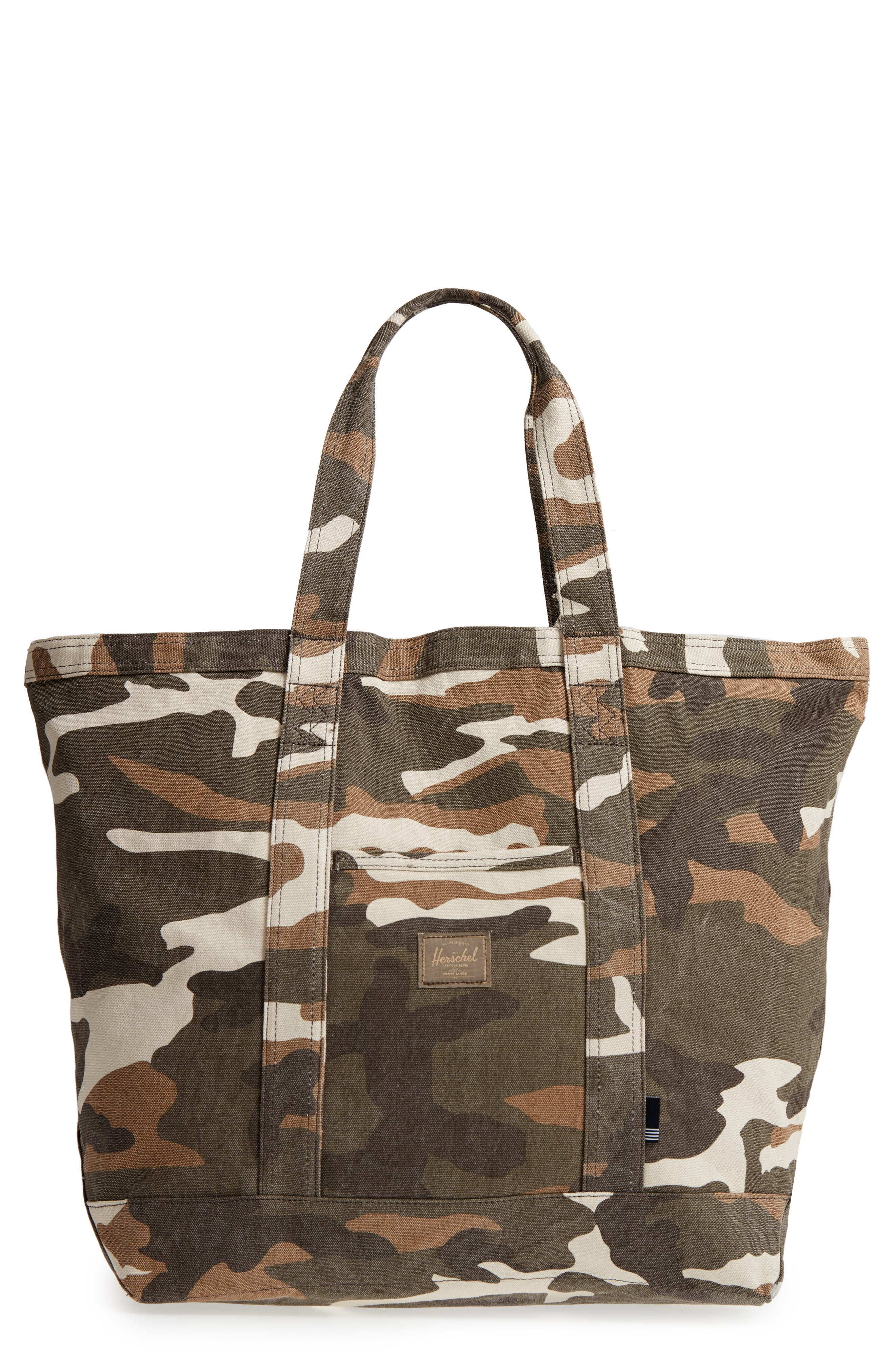 Herschel Supply Co. Bamfield Cotton Canvas Tote
