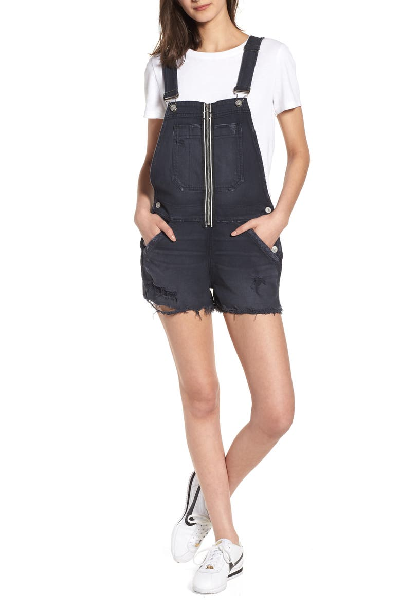 Joey Exposed Zip Shortalls
