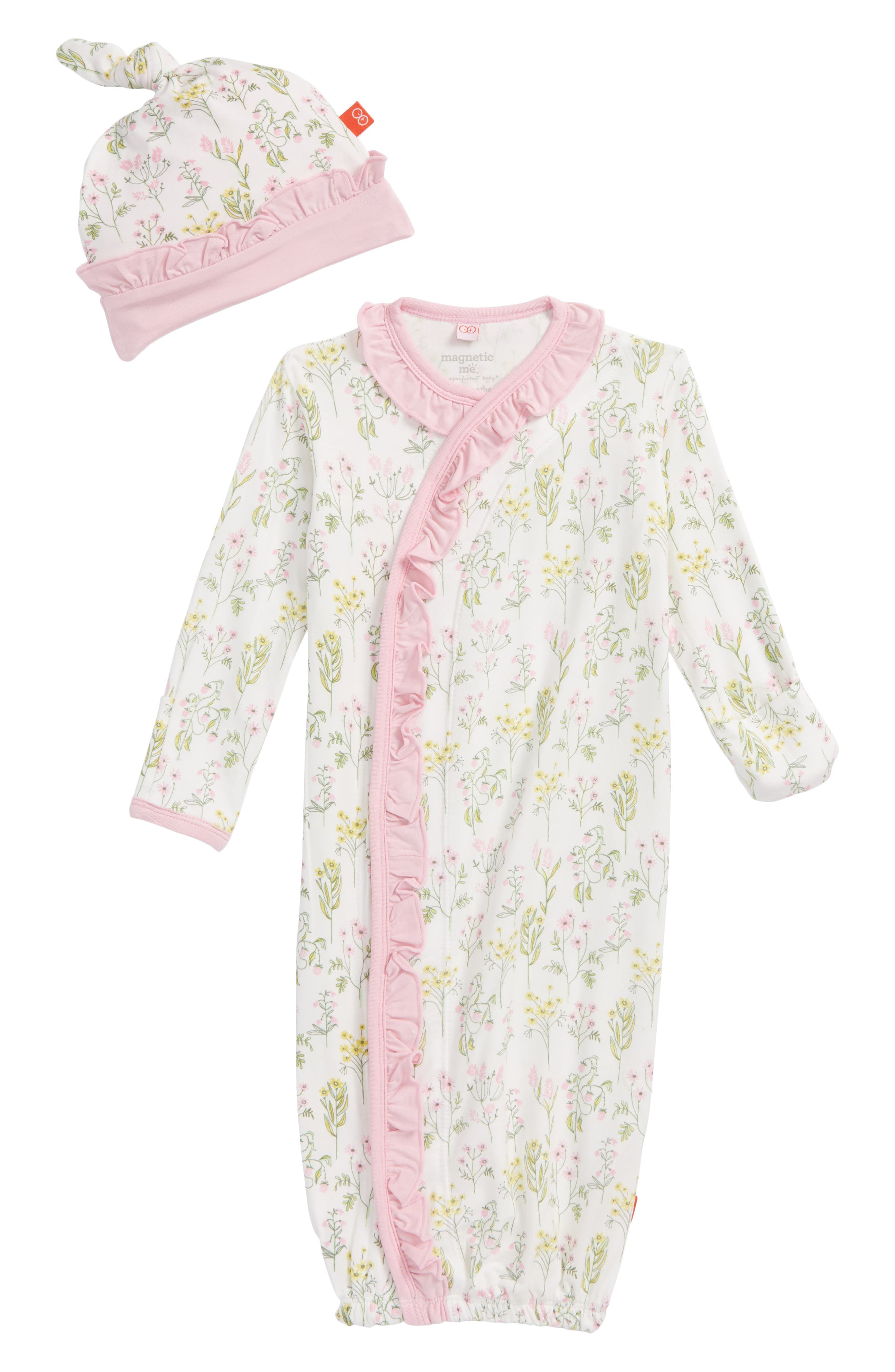 Magnetic Me My Little Garden Gown & Hat Set (Baby Girls)