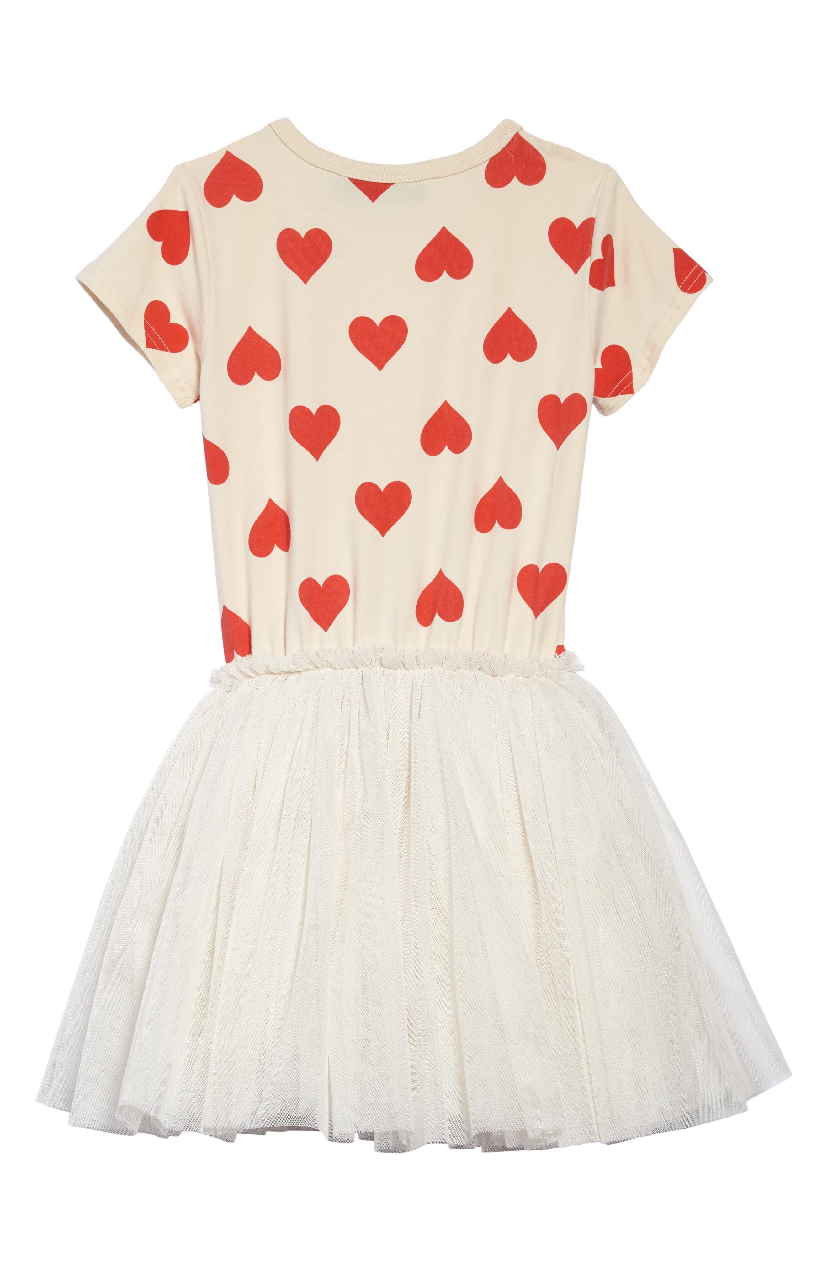 Sweetheart Circus Dress,                             Alternate thumbnail 2, color,                             Oatmeal