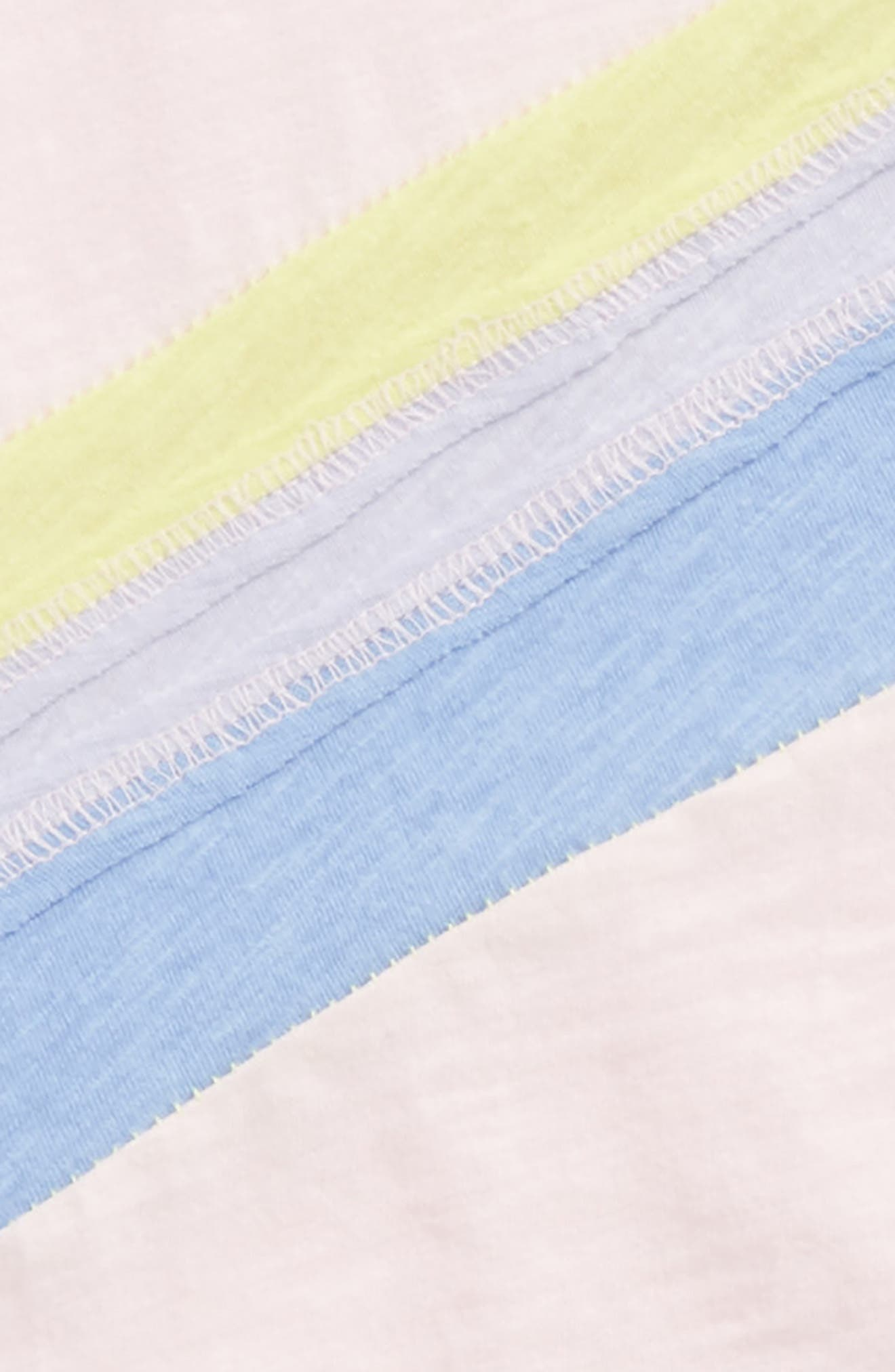 Rainbow Tee & Leggings Set,                             Alternate thumbnail 2, color,                             Ballerina