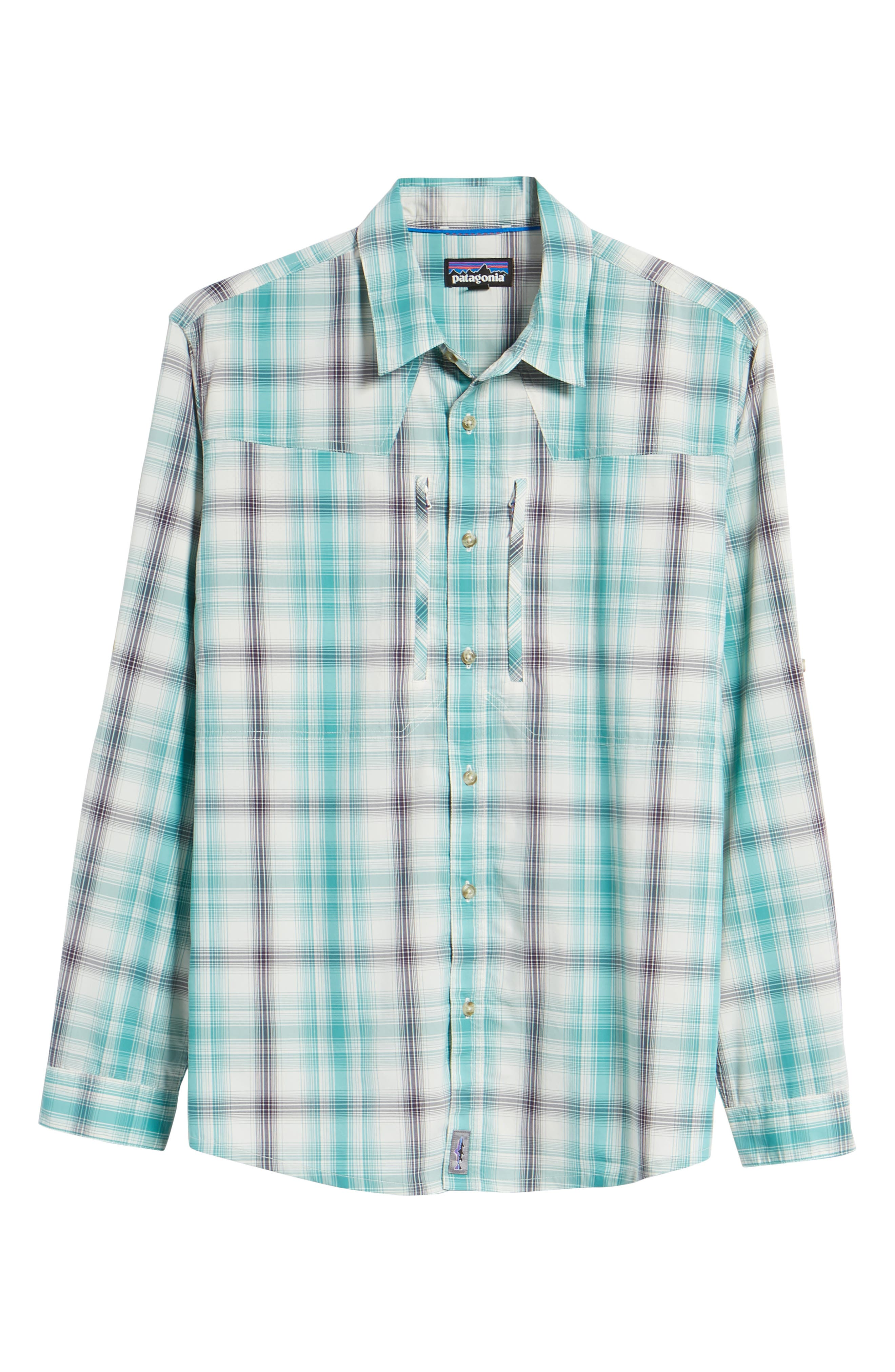 Regular Fit Plaid Sport Shirt,                             Alternate thumbnail 6, color,                             King Swing/ Piton Purple