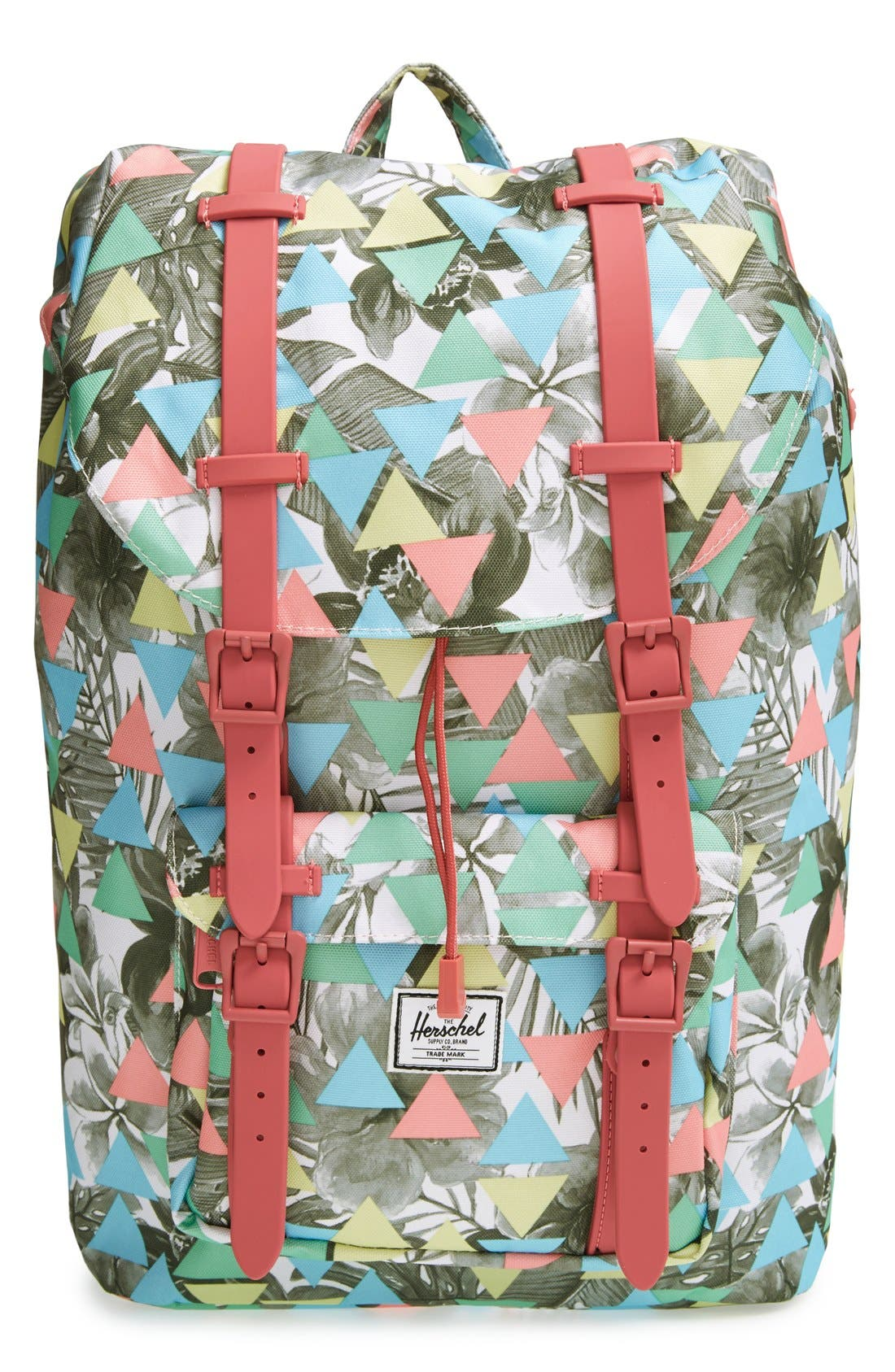 Alternate Image 1 Selected - Herschel Supply Co. 'Little America - Medium' Canvas Backpack