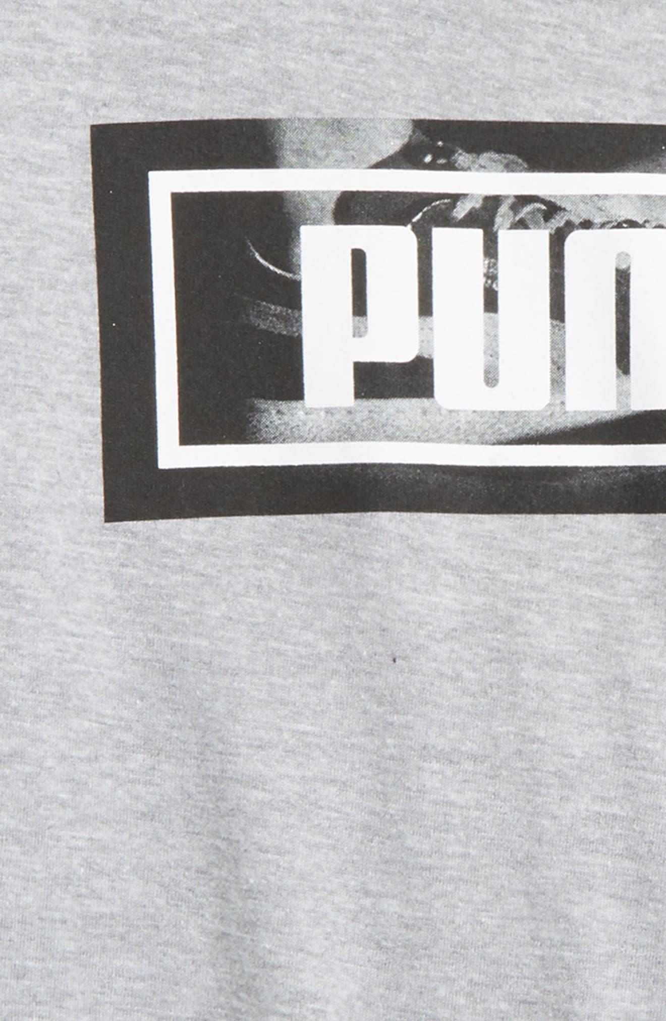 Alternate Image 2  - PUMA Graphic T-Shirt (Big Boys)