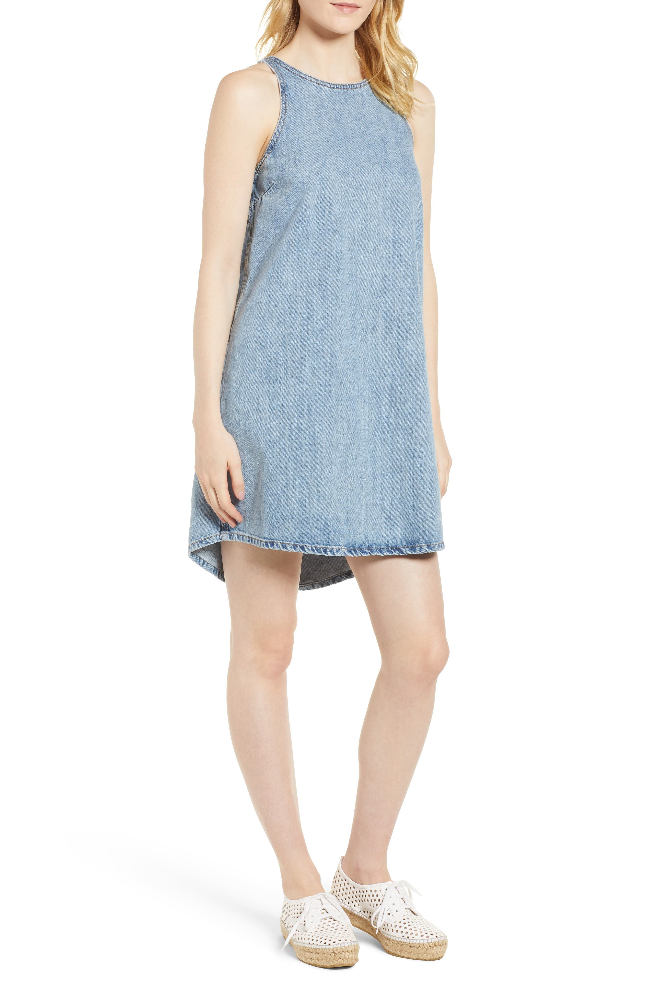 Lucky Brand Denim Tank Dress