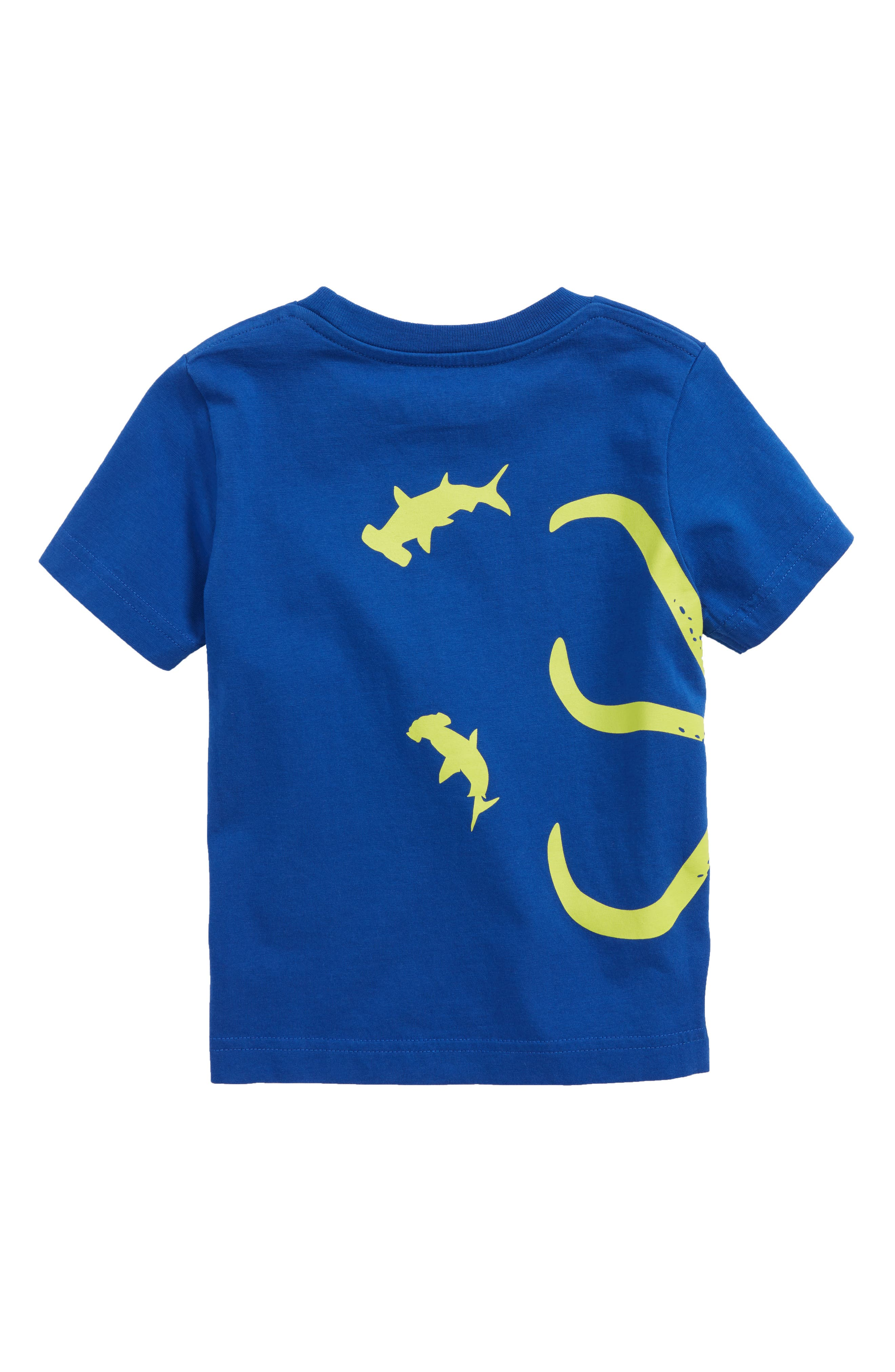 Wraparound Octopus T-Shirt,                             Alternate thumbnail 2, color,                             Orion Blue Octopus