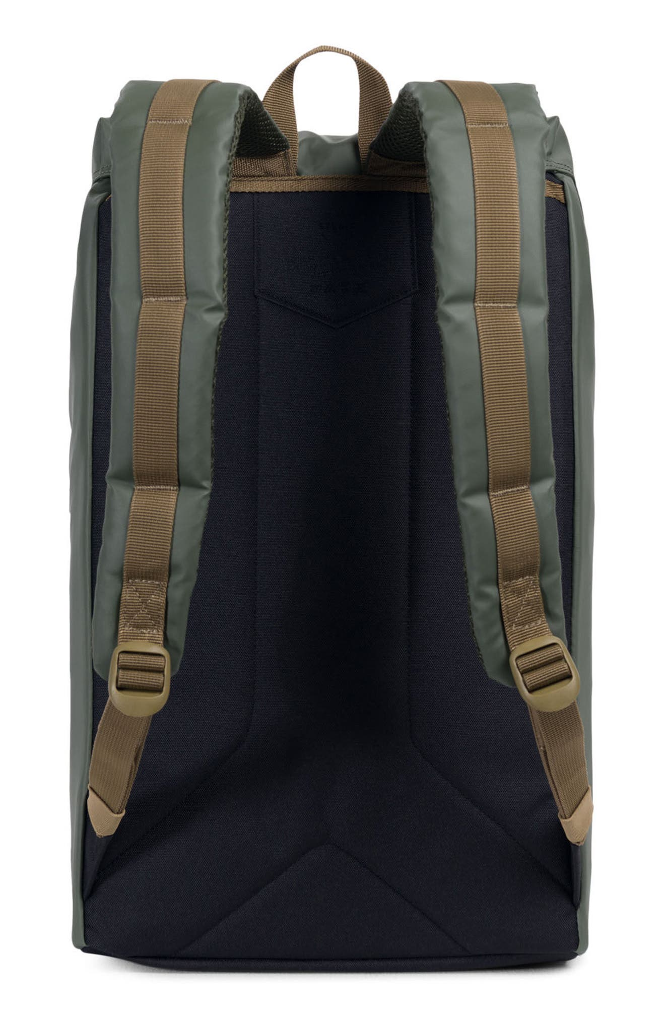 Little America Studio Collection Backpack,                             Alternate thumbnail 2, color,                             Beetle/ Black/ Gothic Olive