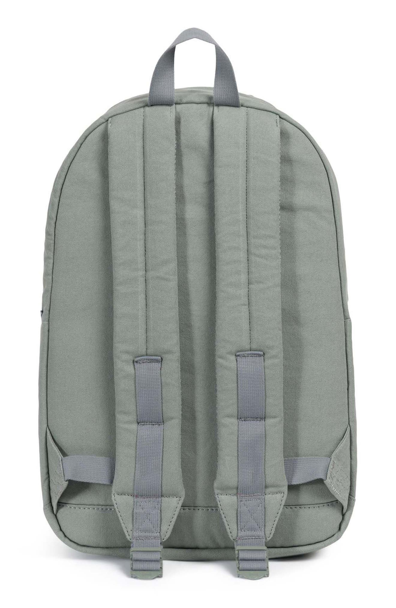 Pop Quiz Canvas Backpack,                             Alternate thumbnail 3, color,                             Shadow