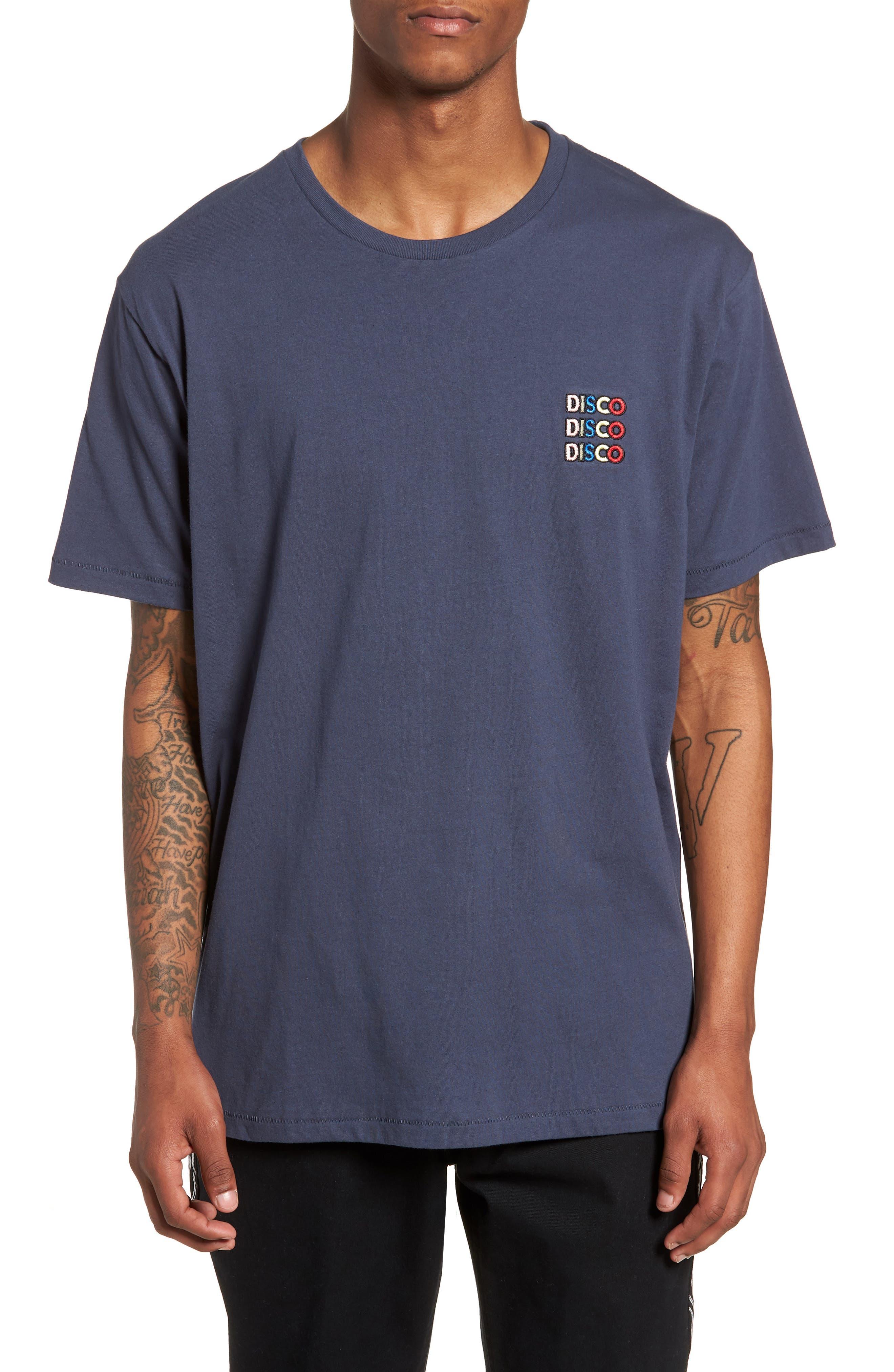 Disco T-Shirt,                         Main,                         color, Slate