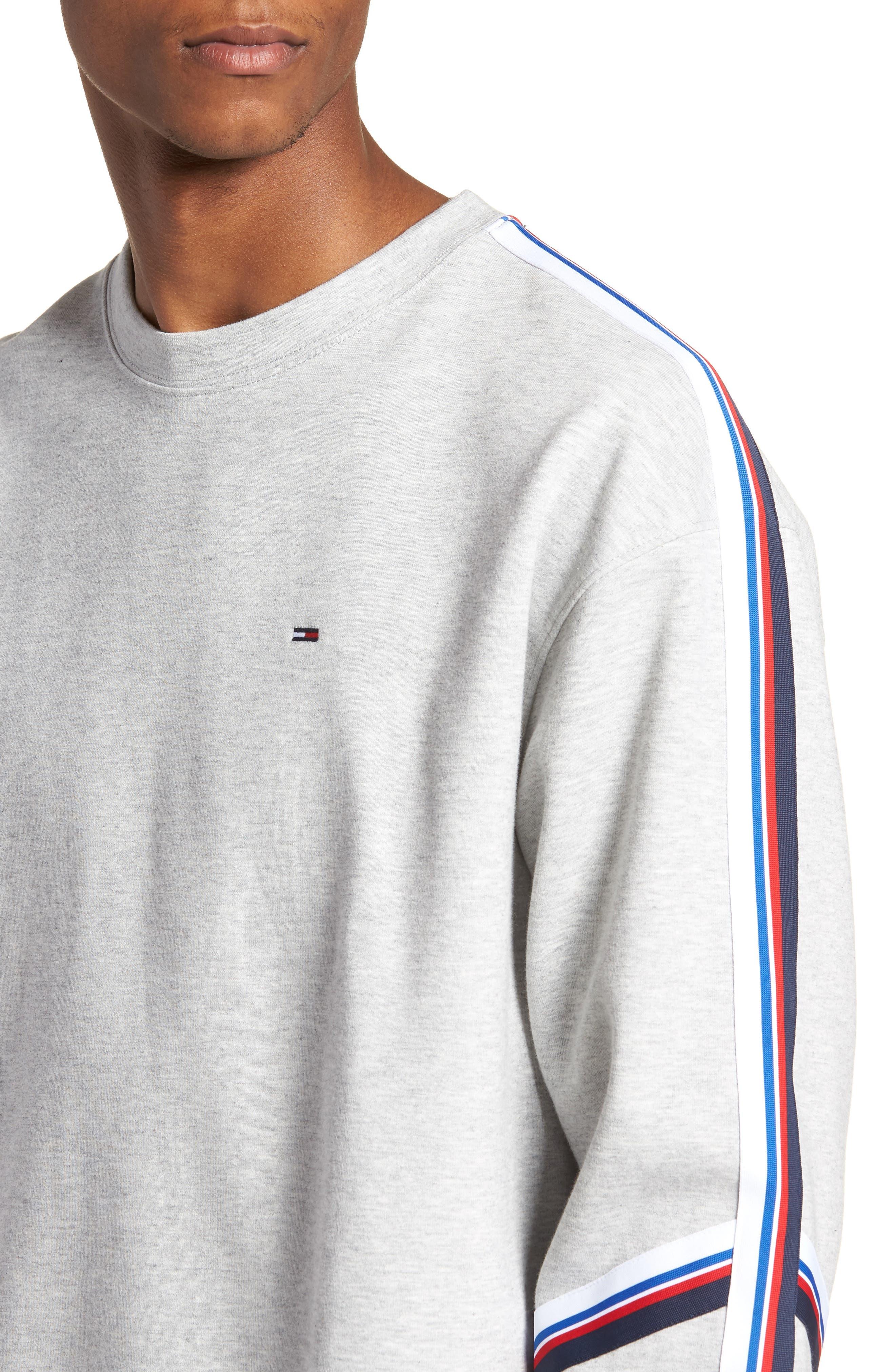 Alternate Image 4  - TOMMY JEANS Racing Stripe Sweatshirt
