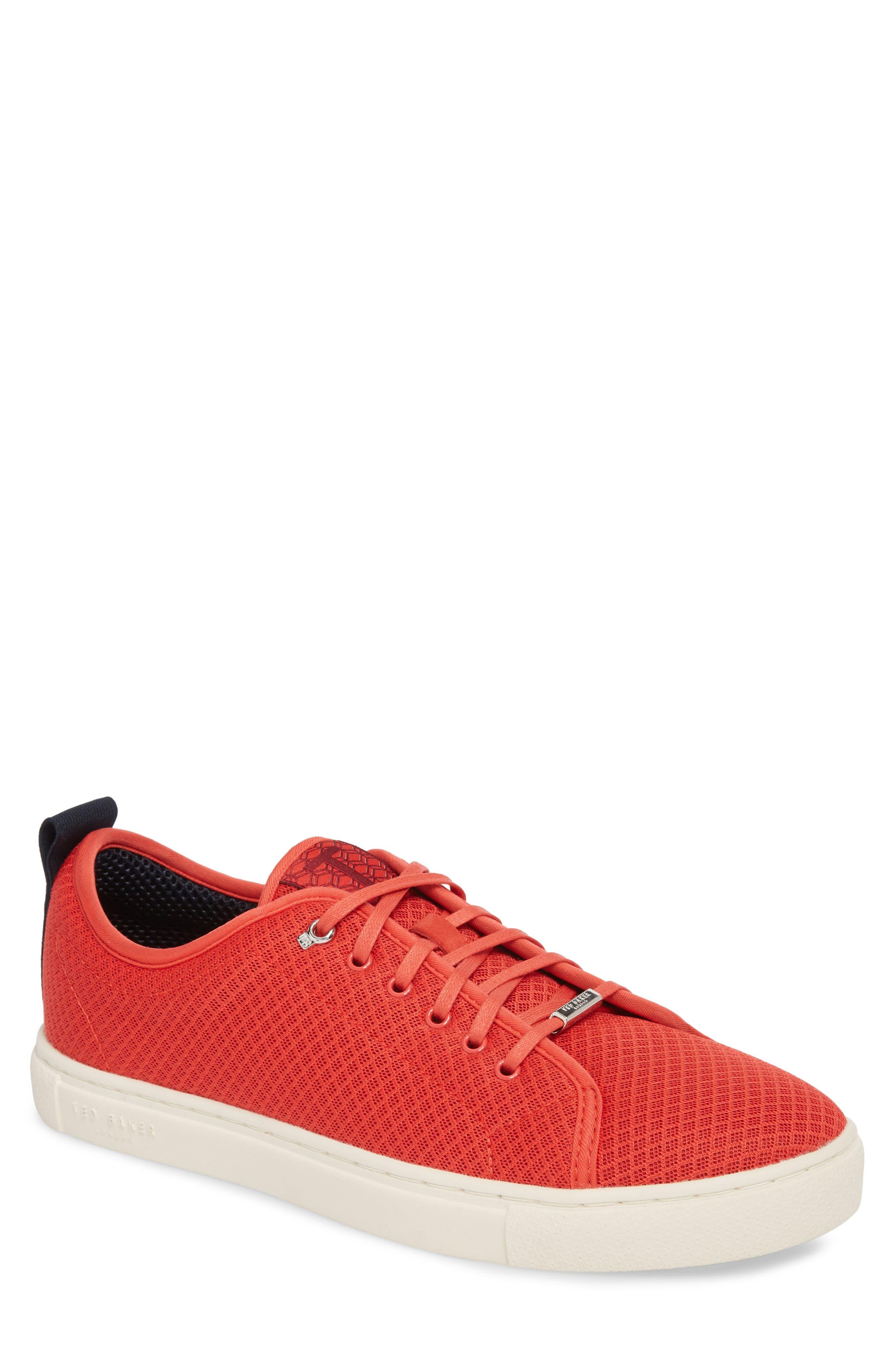Ted Baker London Lannse Low Top Mesh Sneaker (Men)