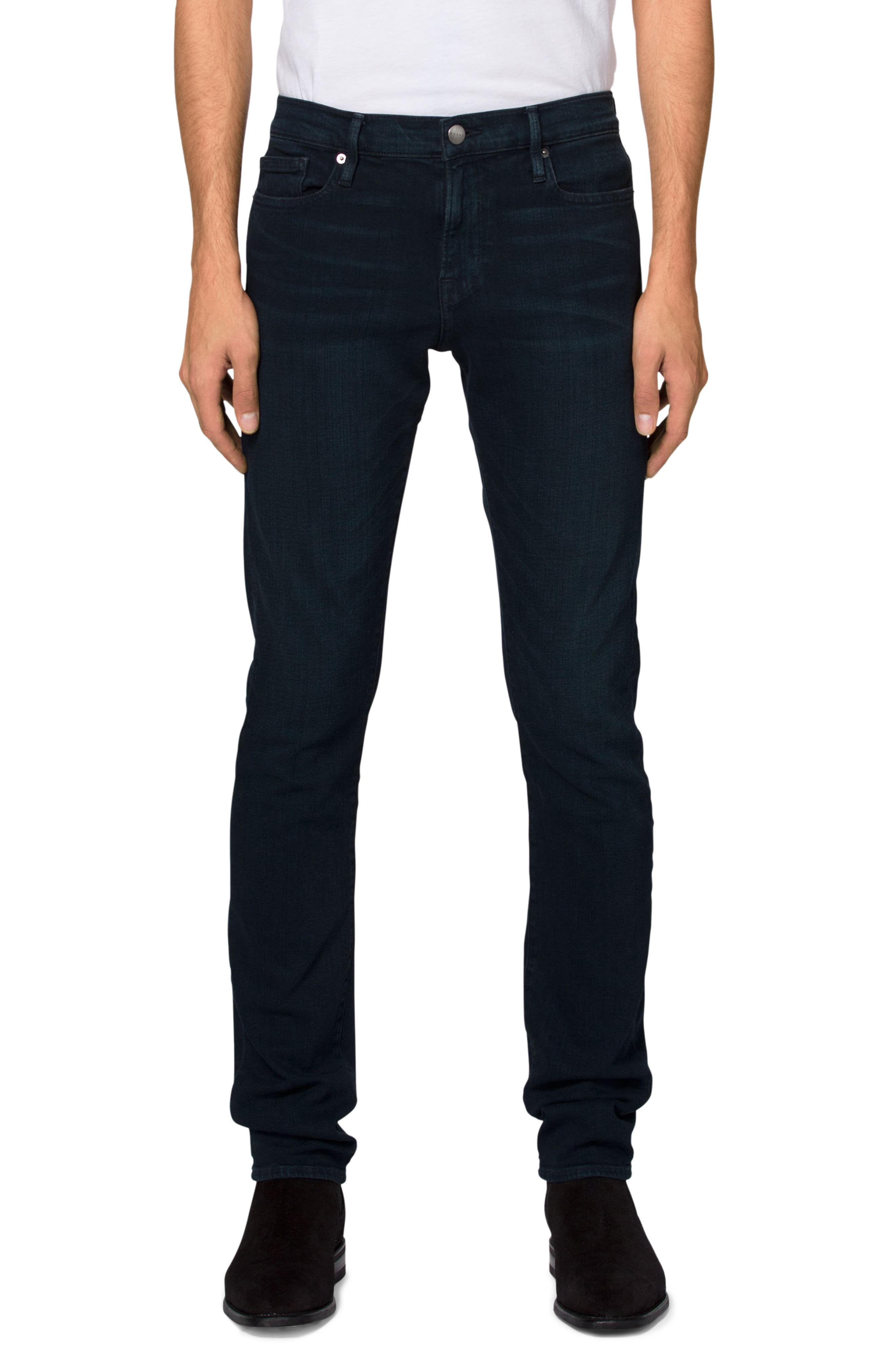 FRAME 'L'Homme' Slim Fit Jeans (Placid)