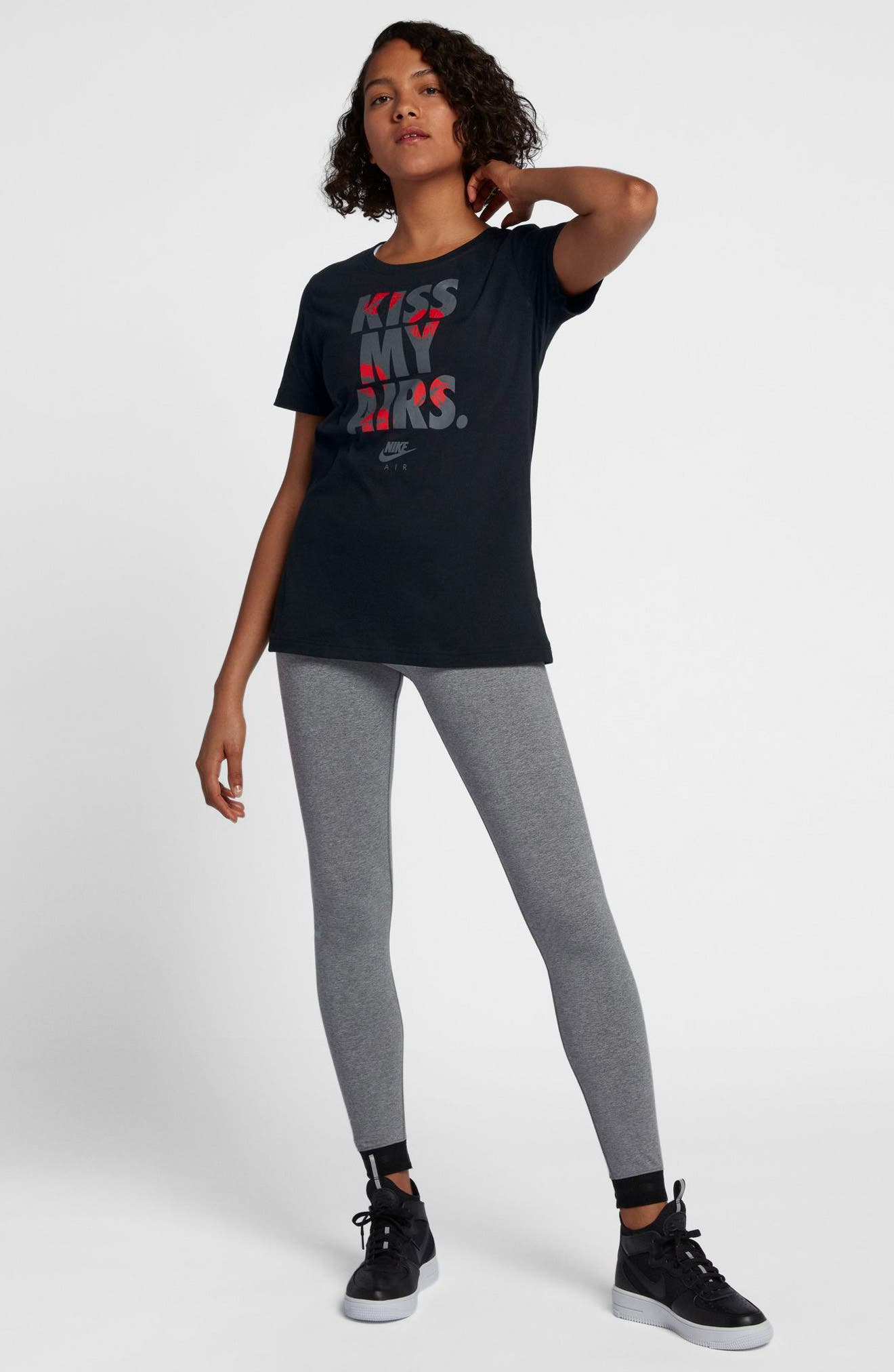 Sportswear Kiss My Airs Crewneck Tee,                             Alternate thumbnail 3, color,