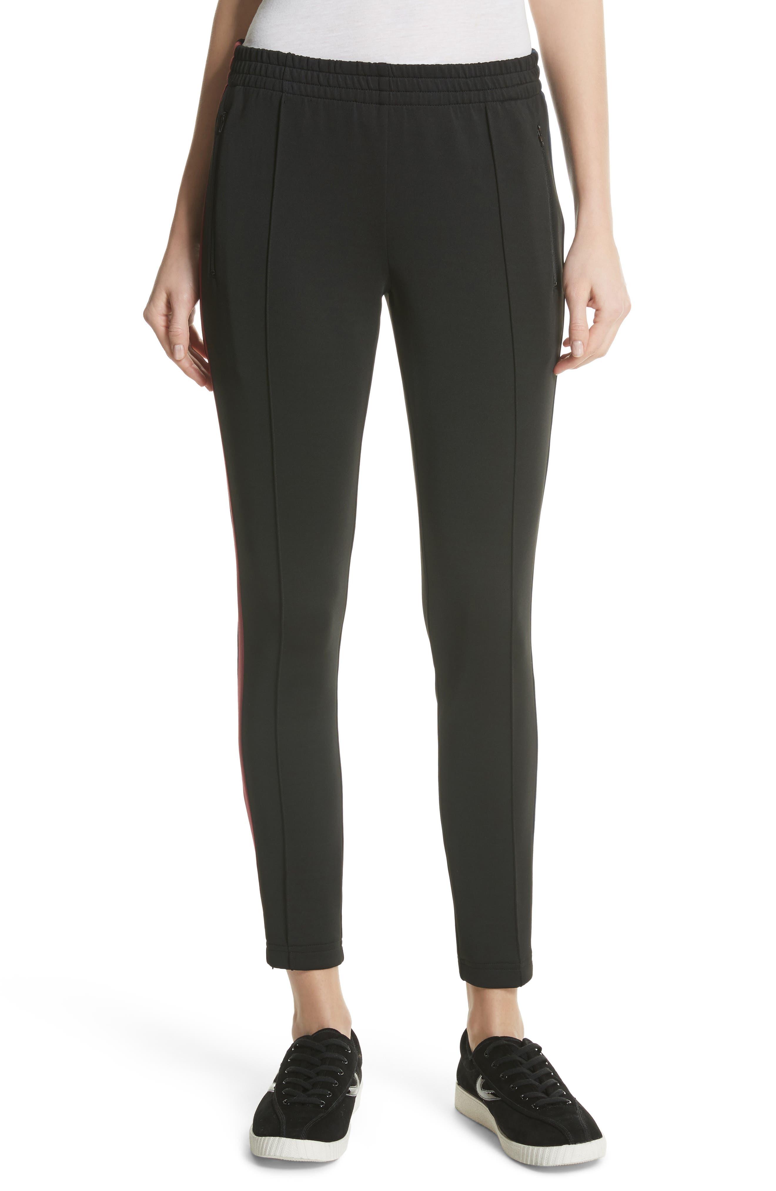 Tricot Track Pants,                         Main,                         color, Black