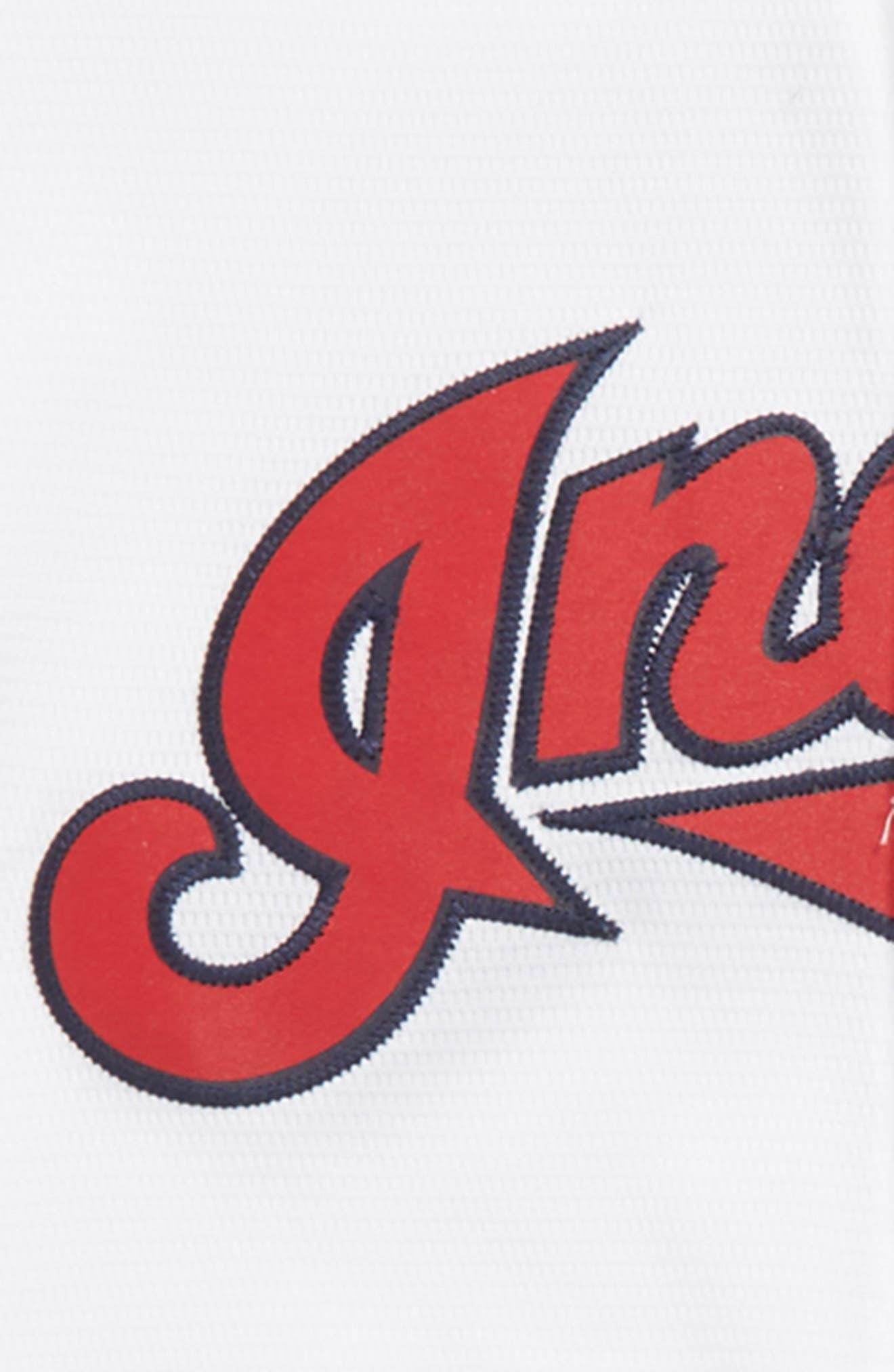 Cleveland Indians - Francisco Lindor Baseball Jersey,                             Alternate thumbnail 3, color,                             White