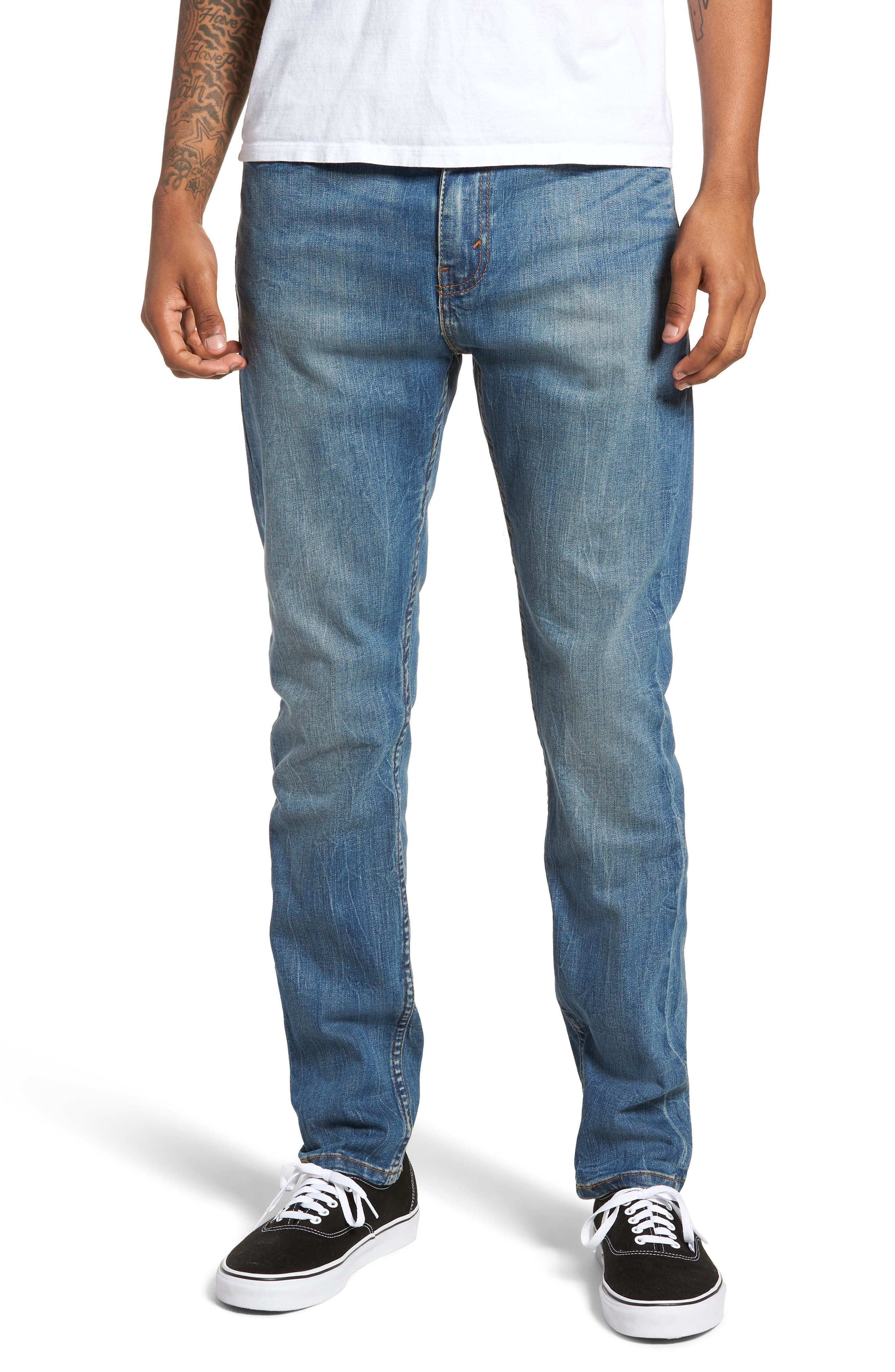510<sup>™</sup> Skinny Fit Jeans,                             Main thumbnail 1, color,                             Lake Anza