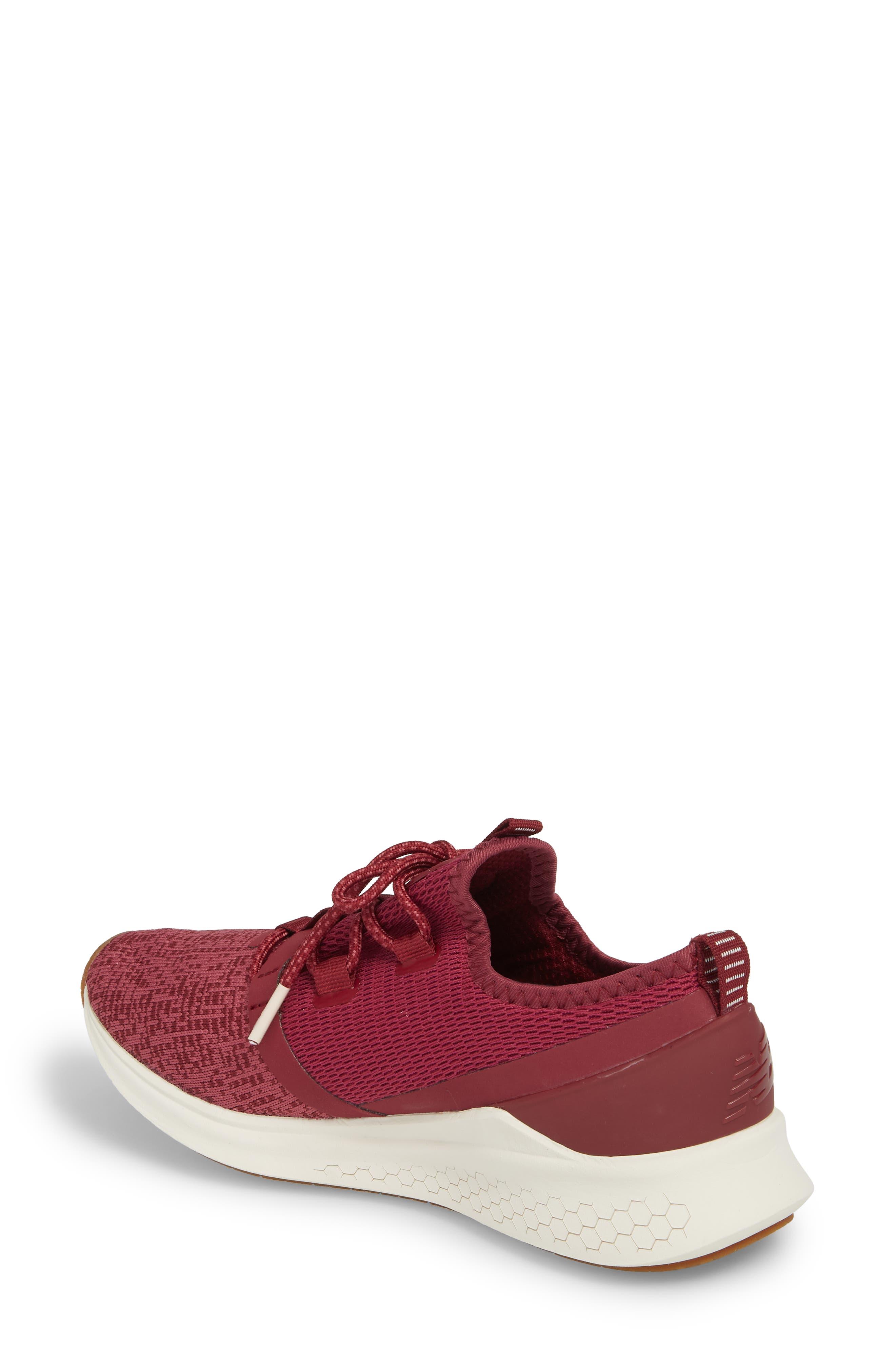 Fresh Foam Lazr Sport Running Shoe,                             Alternate thumbnail 2, color,                             Purple
