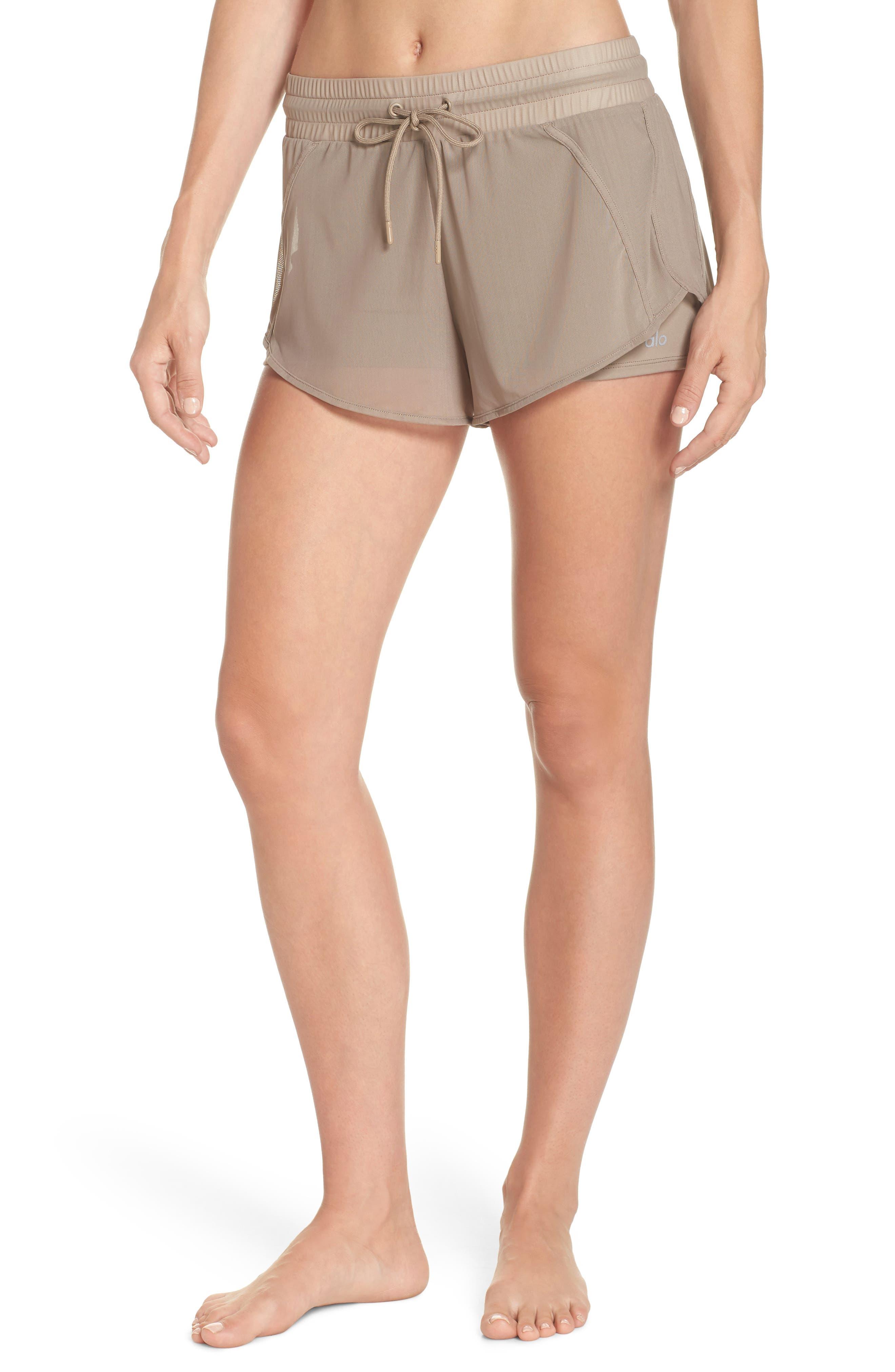 Ambience Shorts,                             Main thumbnail 1, color,                             Gravel