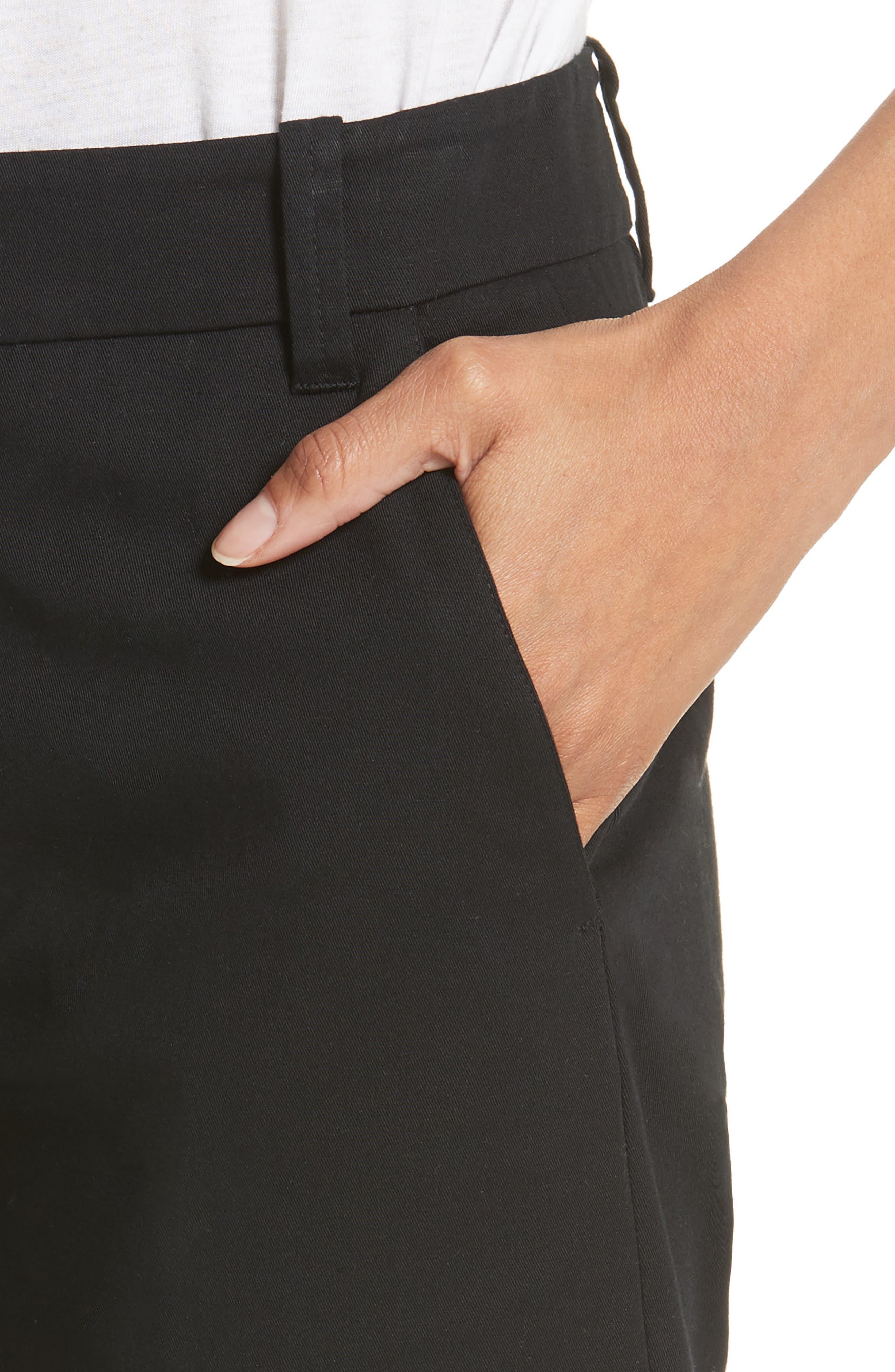 Bermuda Shorts,                             Alternate thumbnail 4, color,                             Black
