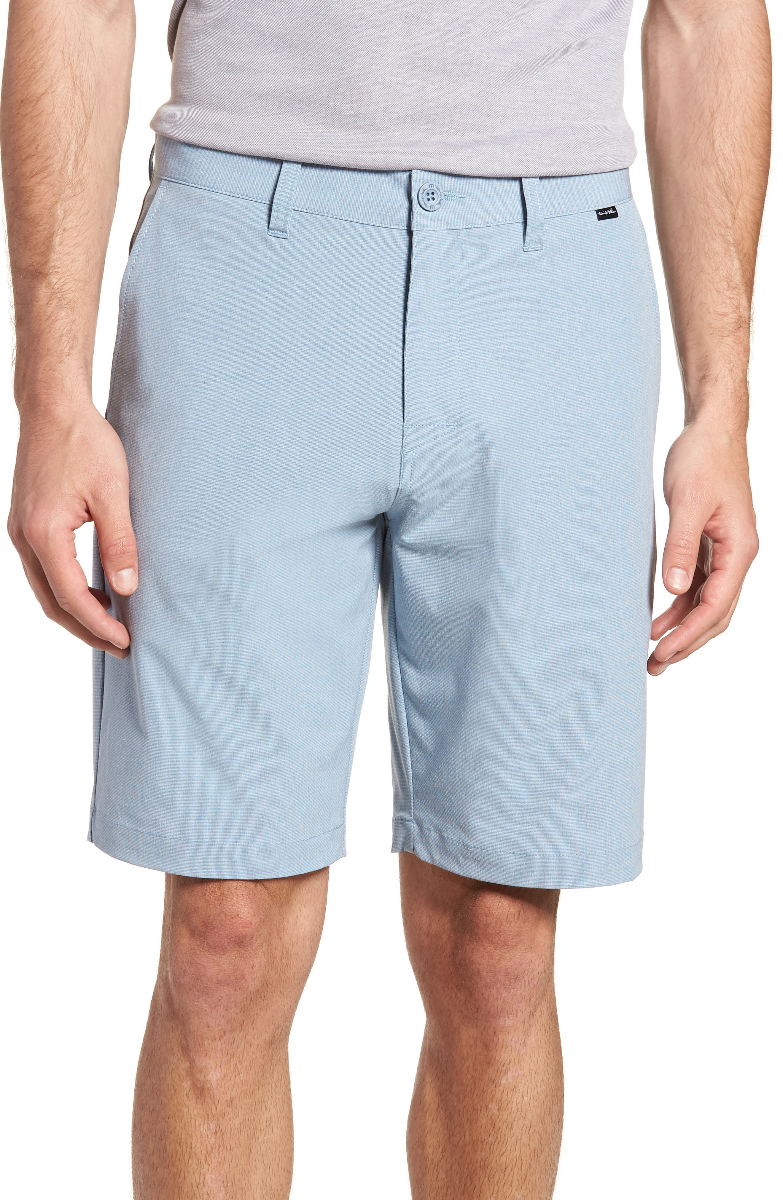 Beck Stretch Performance Shorts,                         Main,                         color, Blue