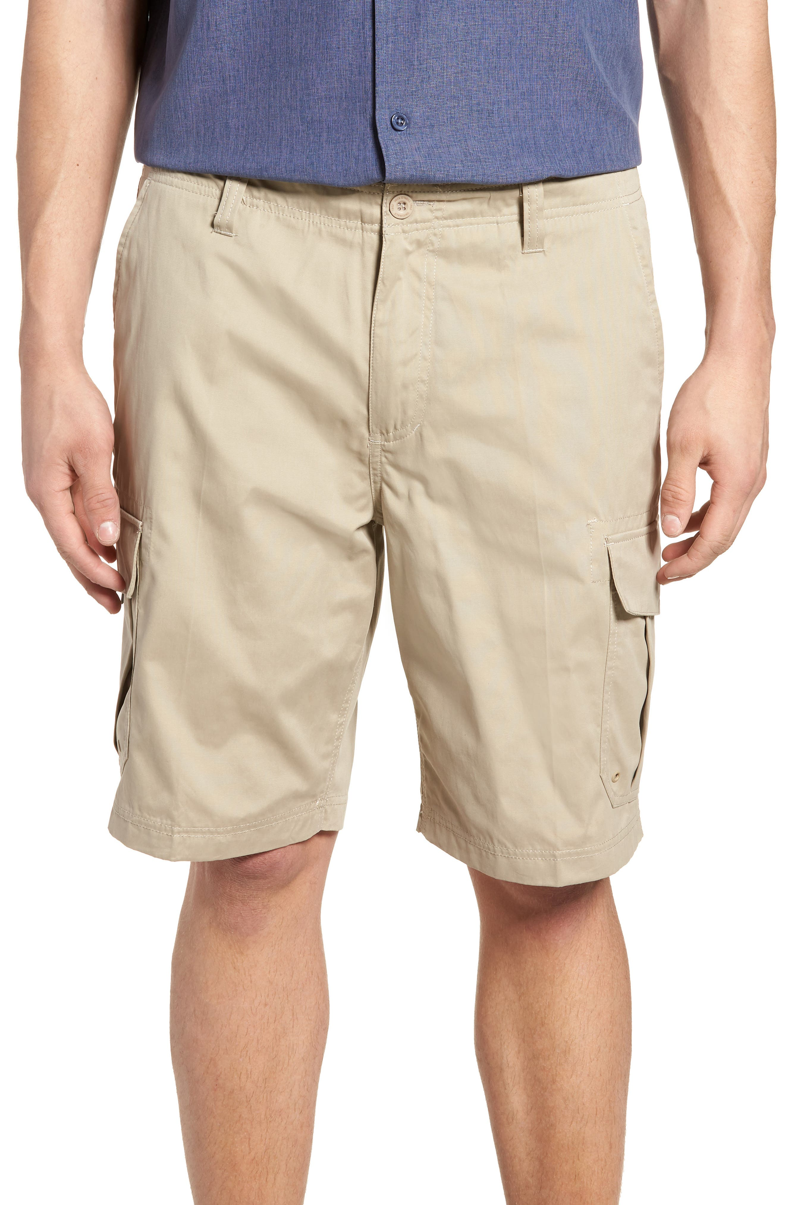 Landmark Cargo Shorts,                             Main thumbnail 1, color,                             Khaki