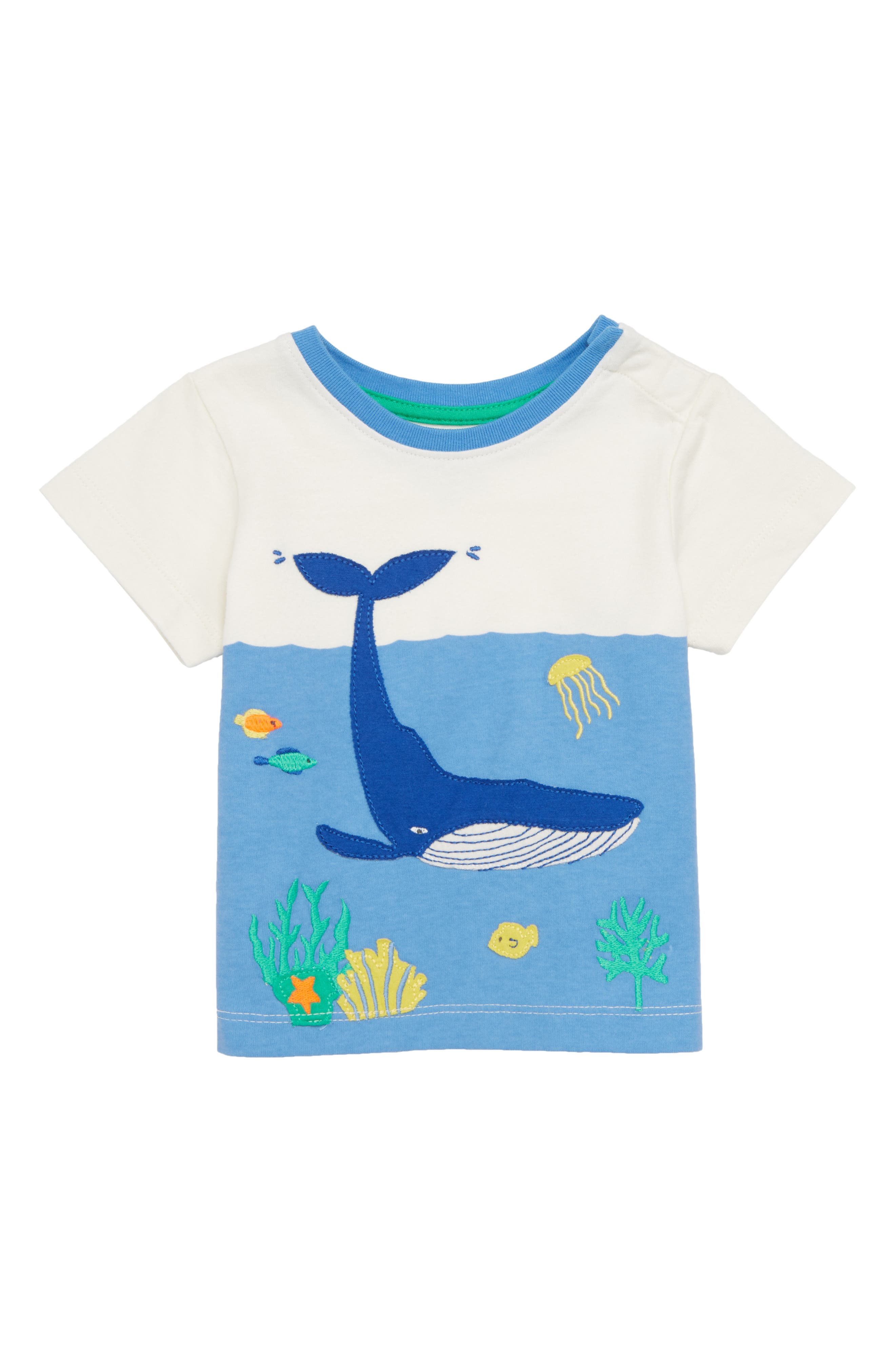 Animal Explorer T-Shirt,                         Main,                         color, Ivory