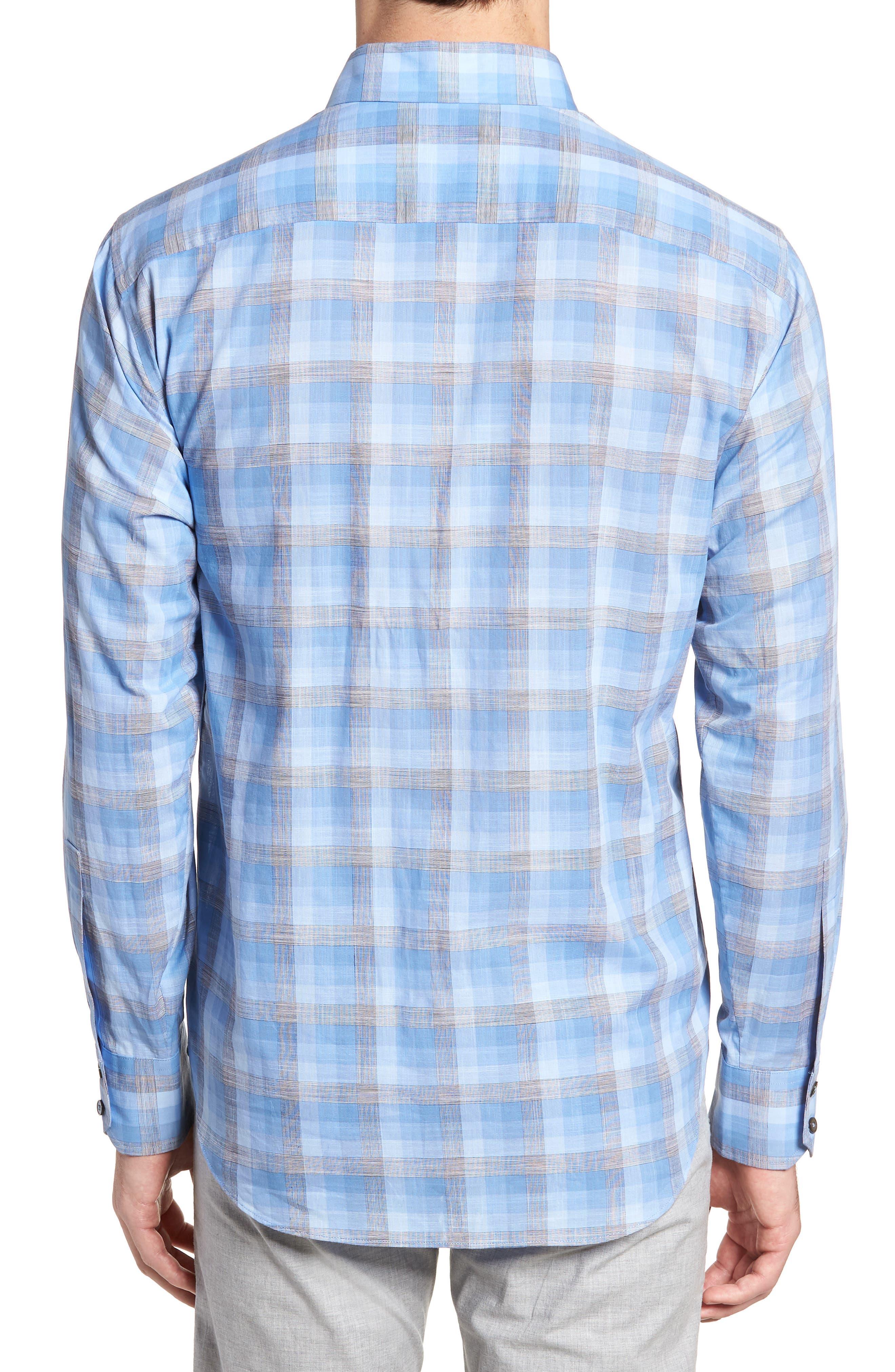 Asim Regular Fit Sport Shirt,                             Alternate thumbnail 2, color,                             Ocean