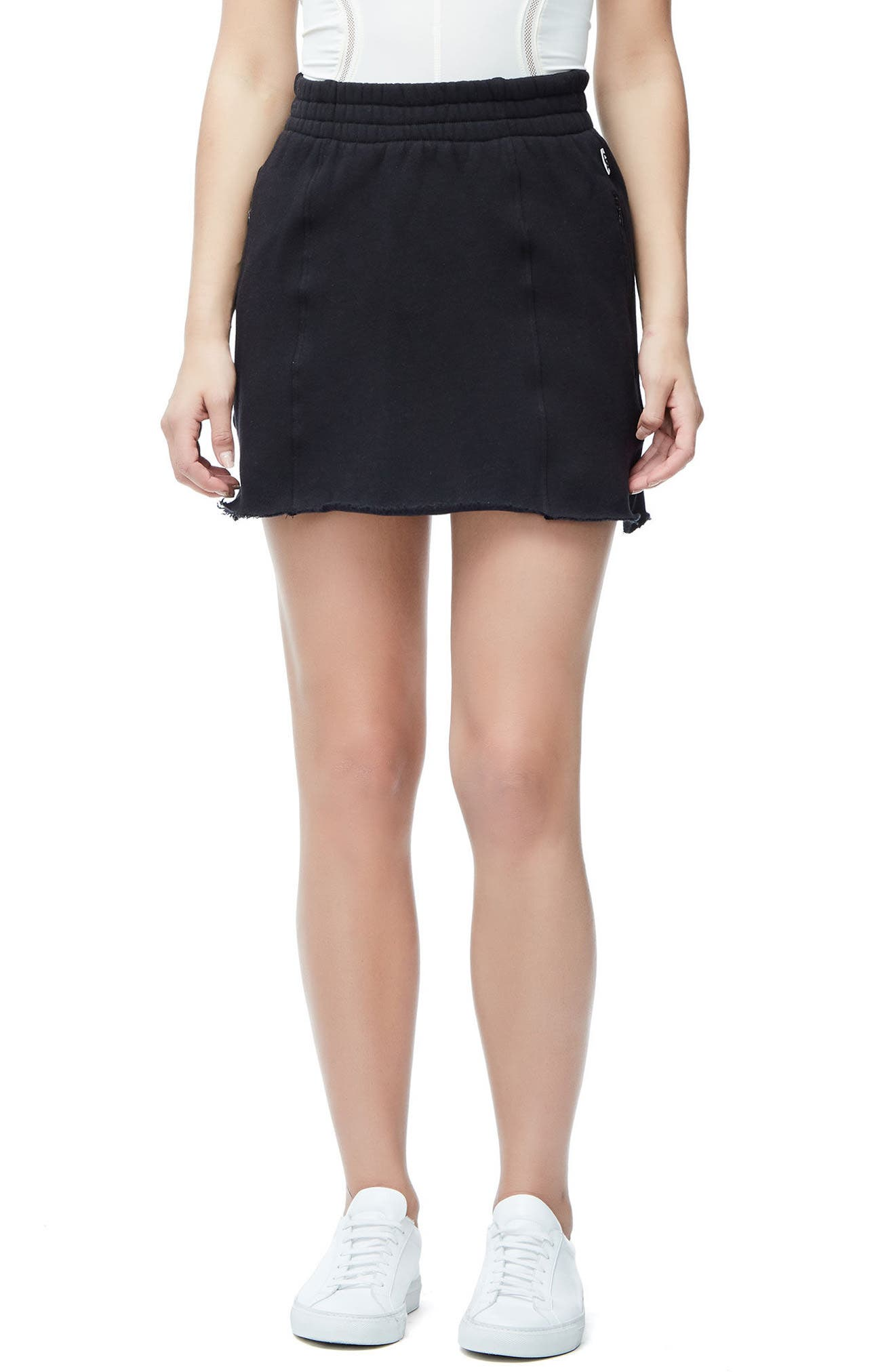 Good American Seamed Miniskirt (Regular & Plus Size)