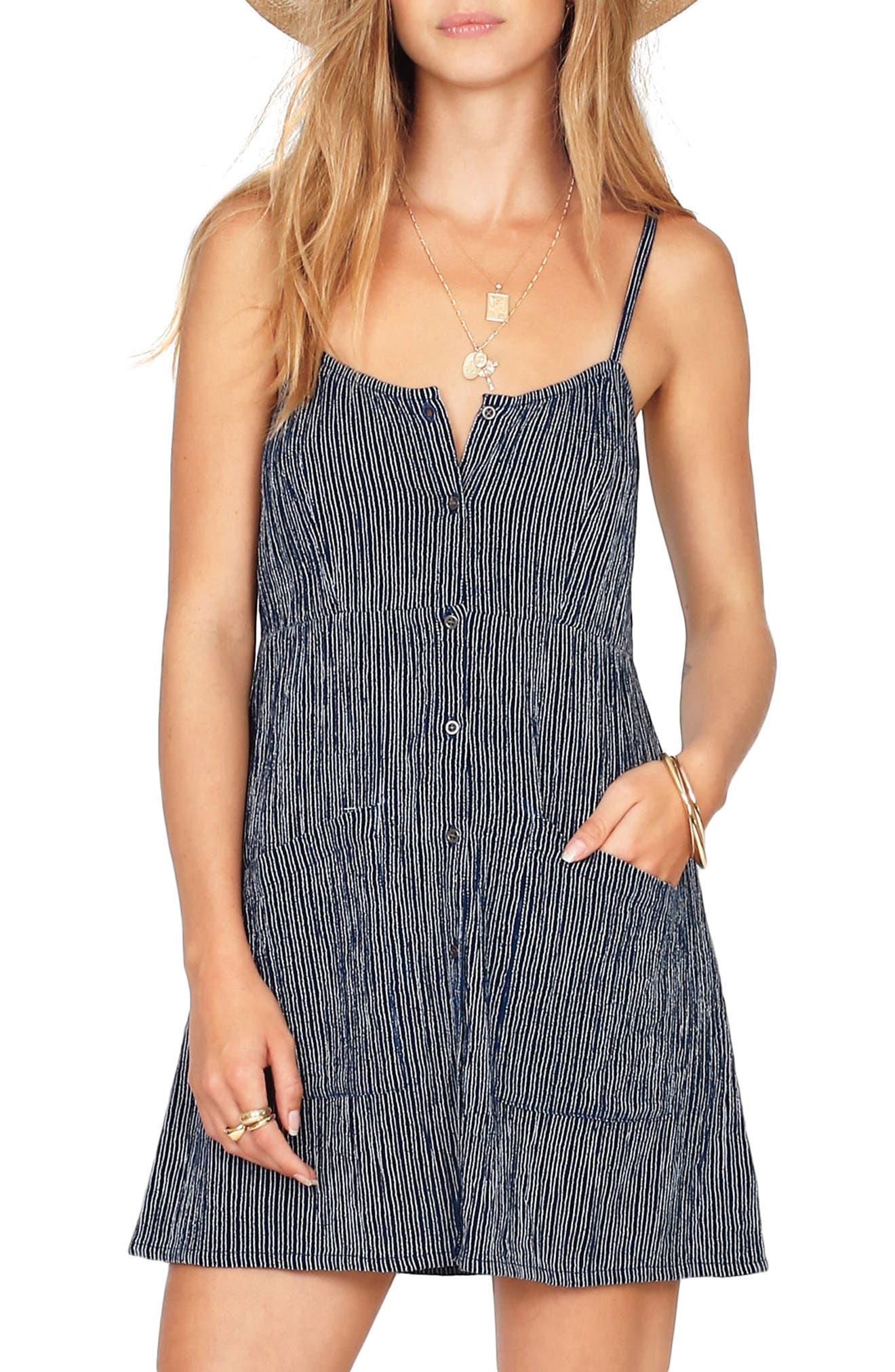 Amuse Society Brunch Date Stripe Dress