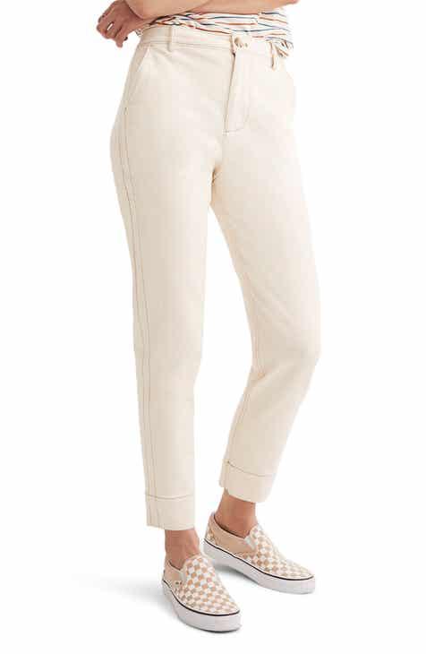 Women S Beige Pants Amp Leggings Nordstrom