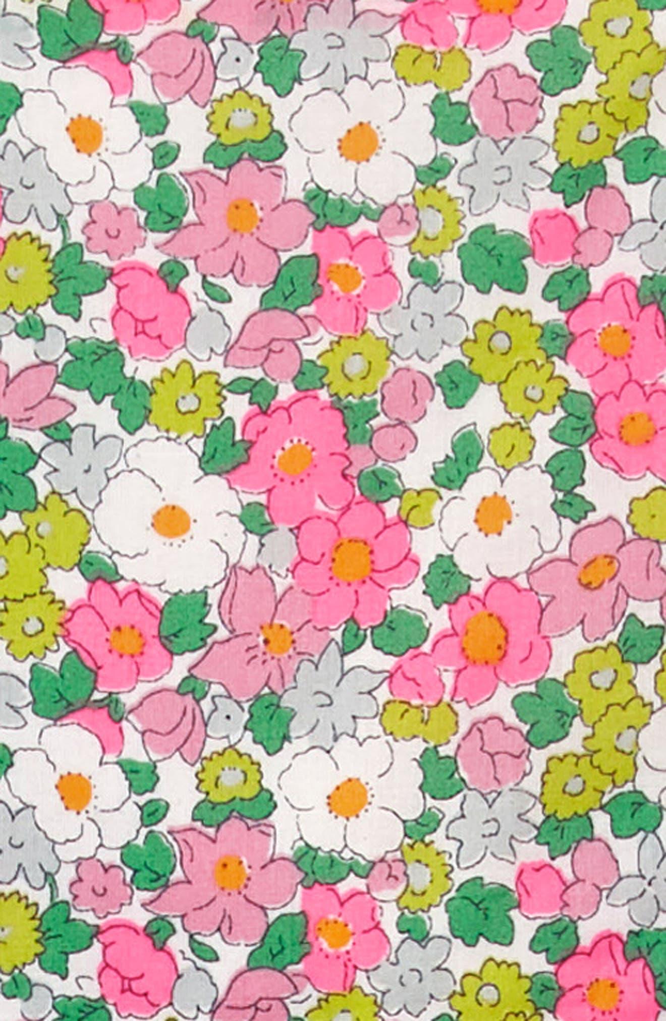 Alternate Image 3  - Mini Boden Frill Cross Back Woven Dress (Toddler Girls, Little Girls & Big Girls)