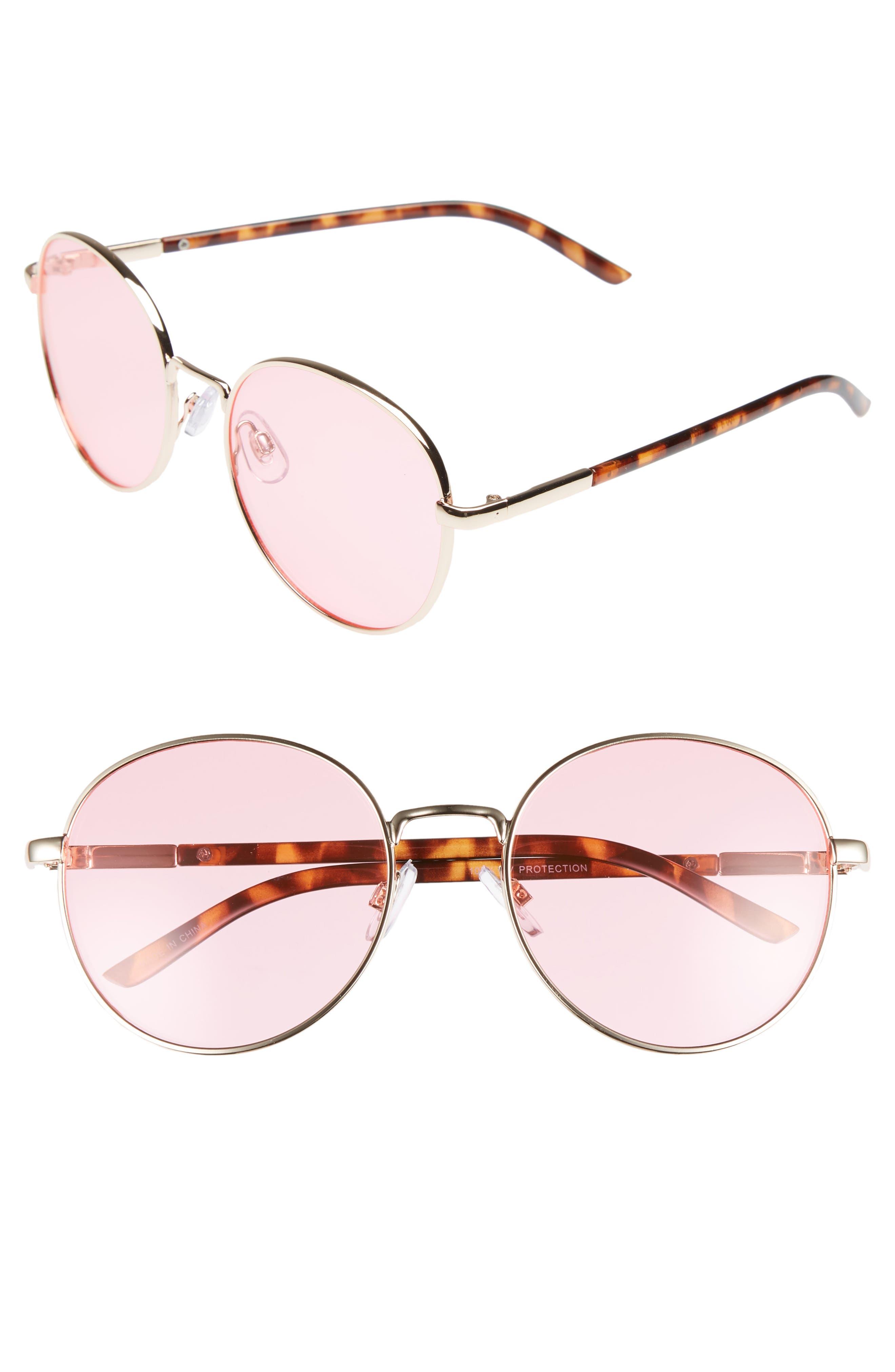 BP. 55mm Round Sunglasses