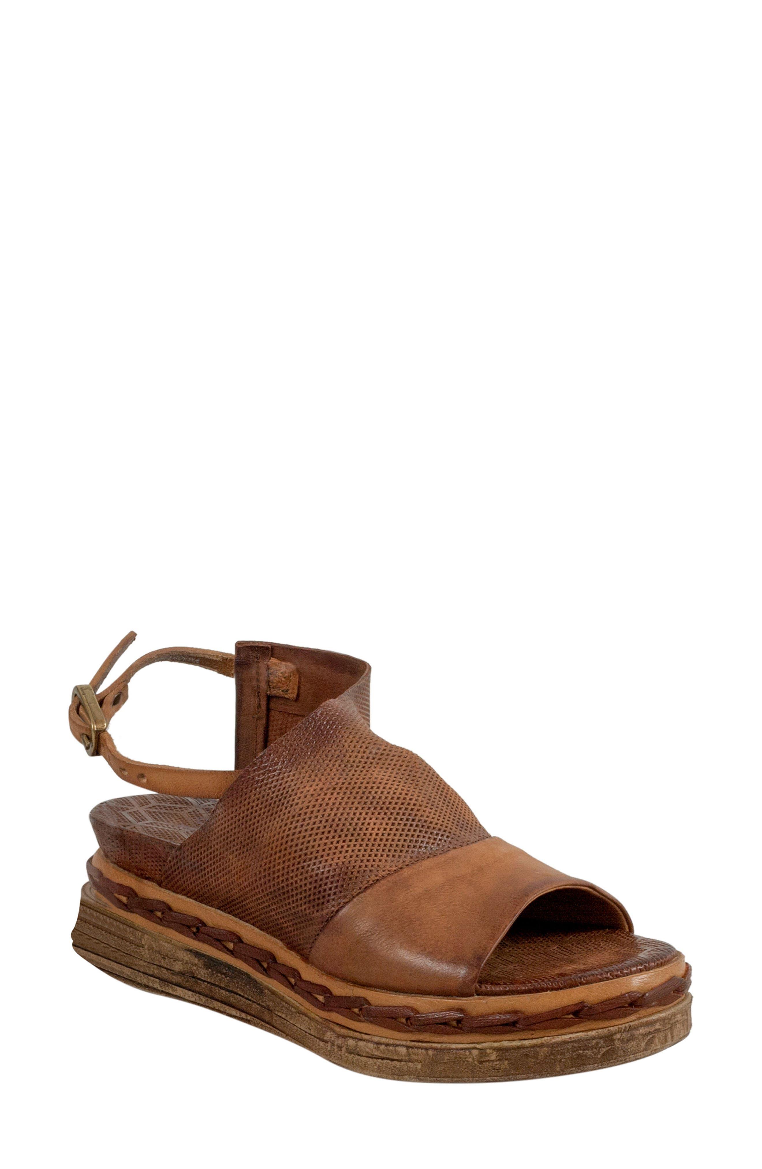 A.S.98 Lira Platform Sandal (Women)