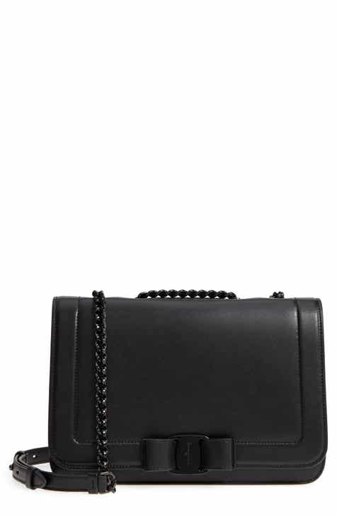 bcf00eee0f Salvatore Ferragamo Vara Leather Crossbody Bag