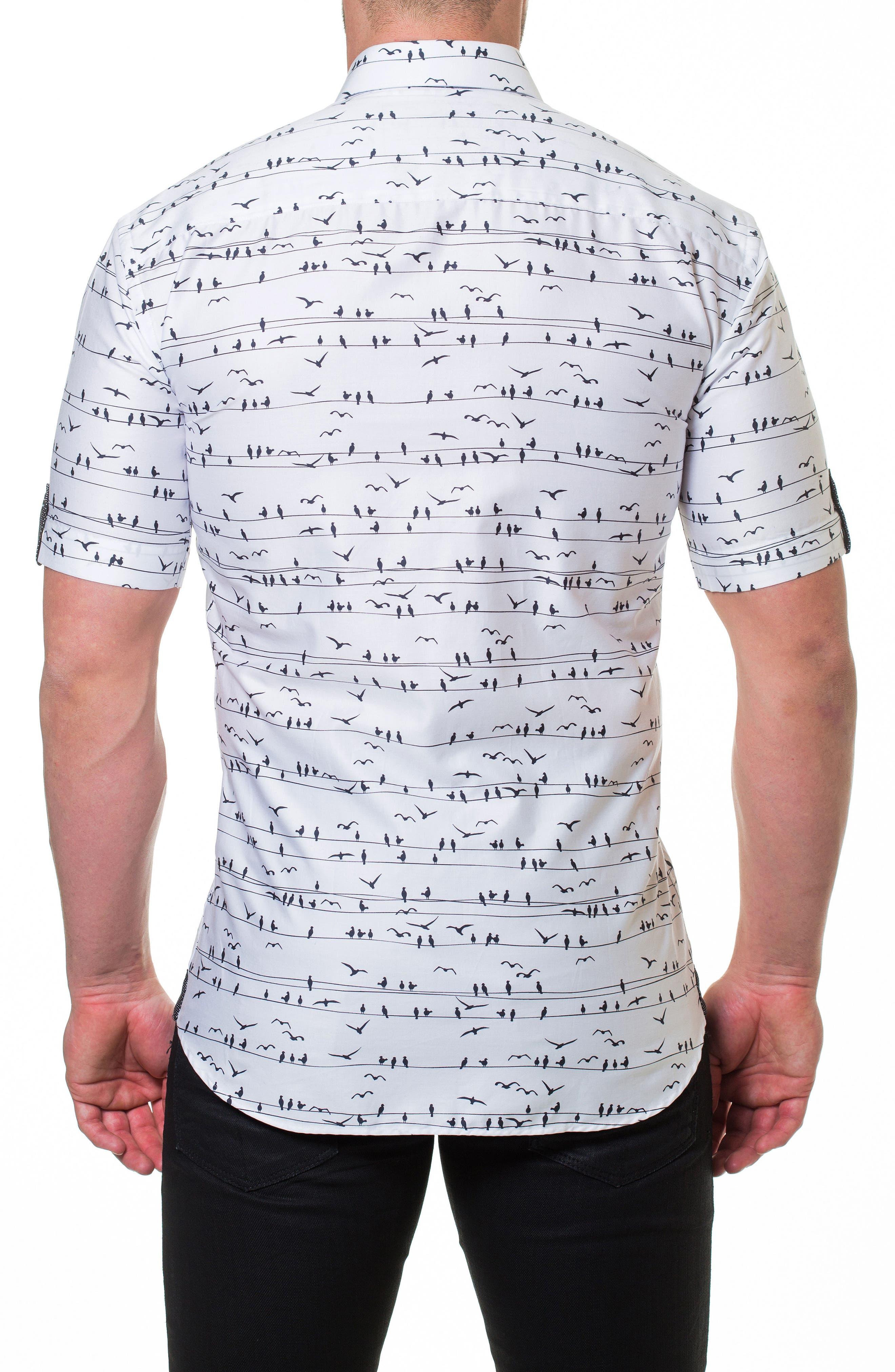 Fresh Wire Slim Fit Sport Shirt,                             Alternate thumbnail 2, color,                             White