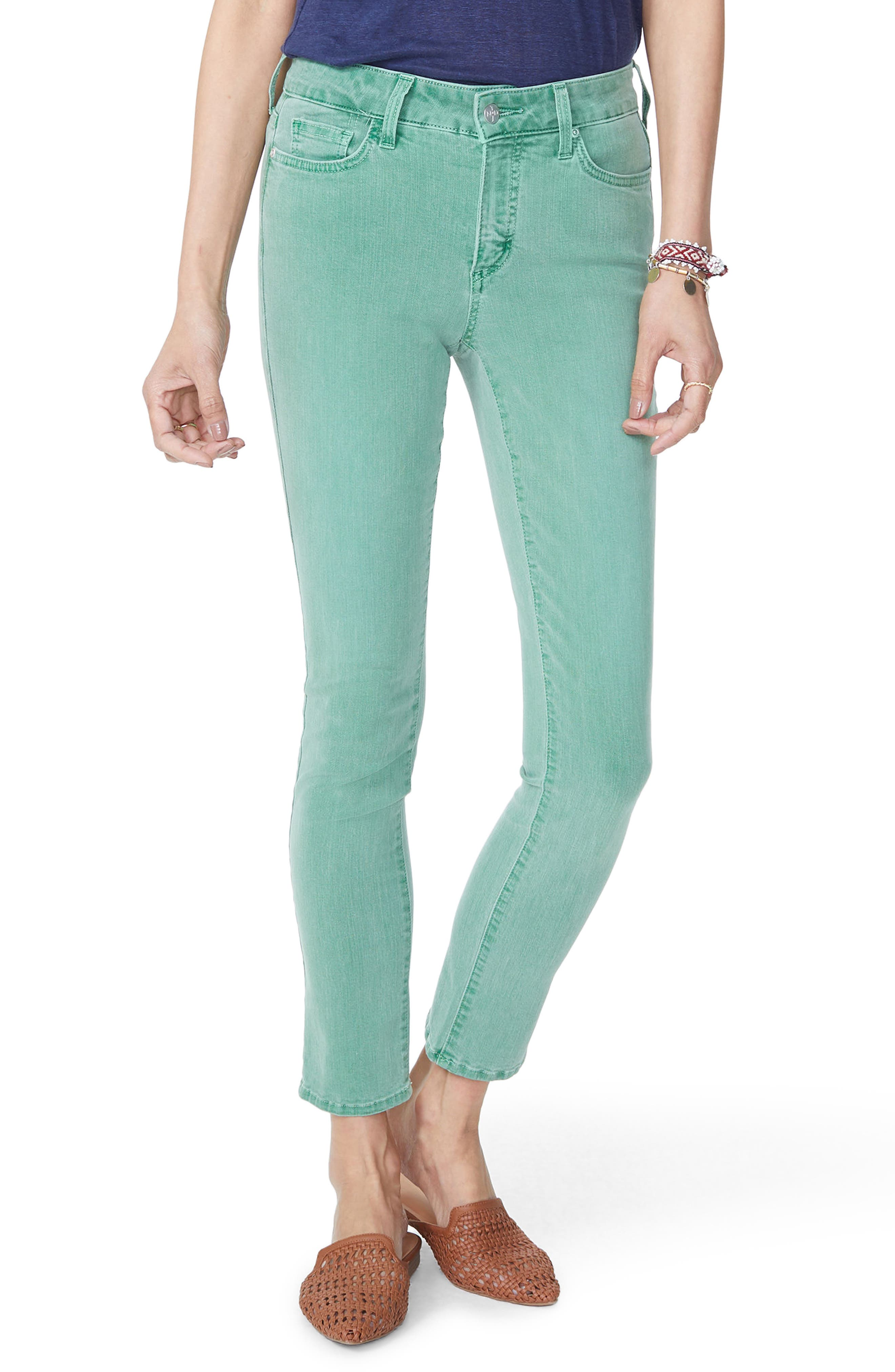 Alina Ankle Jeans,                             Main thumbnail 1, color,                             Cactus