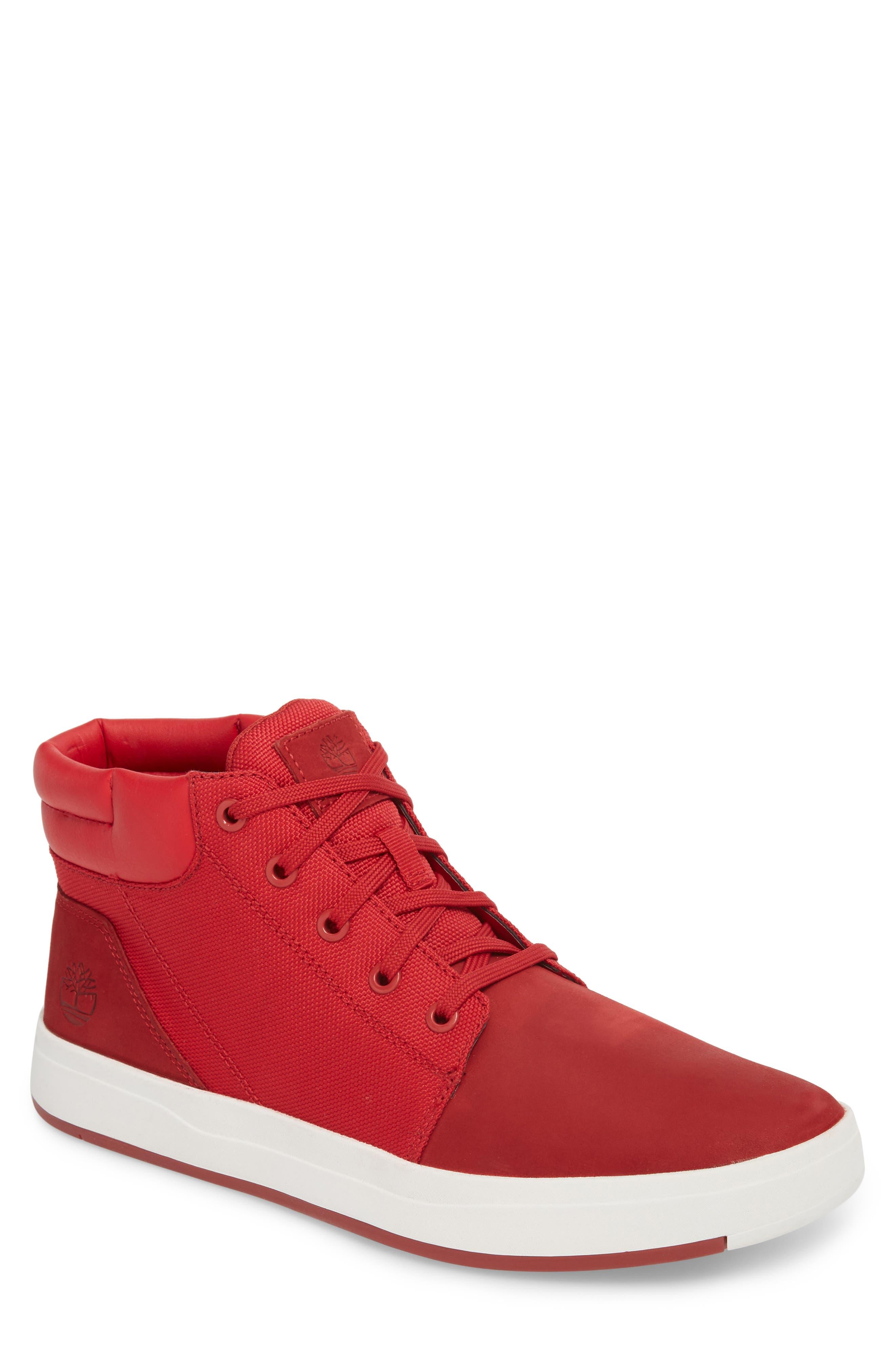 Timberland Davis Square Mid Top Sneaker (Men)