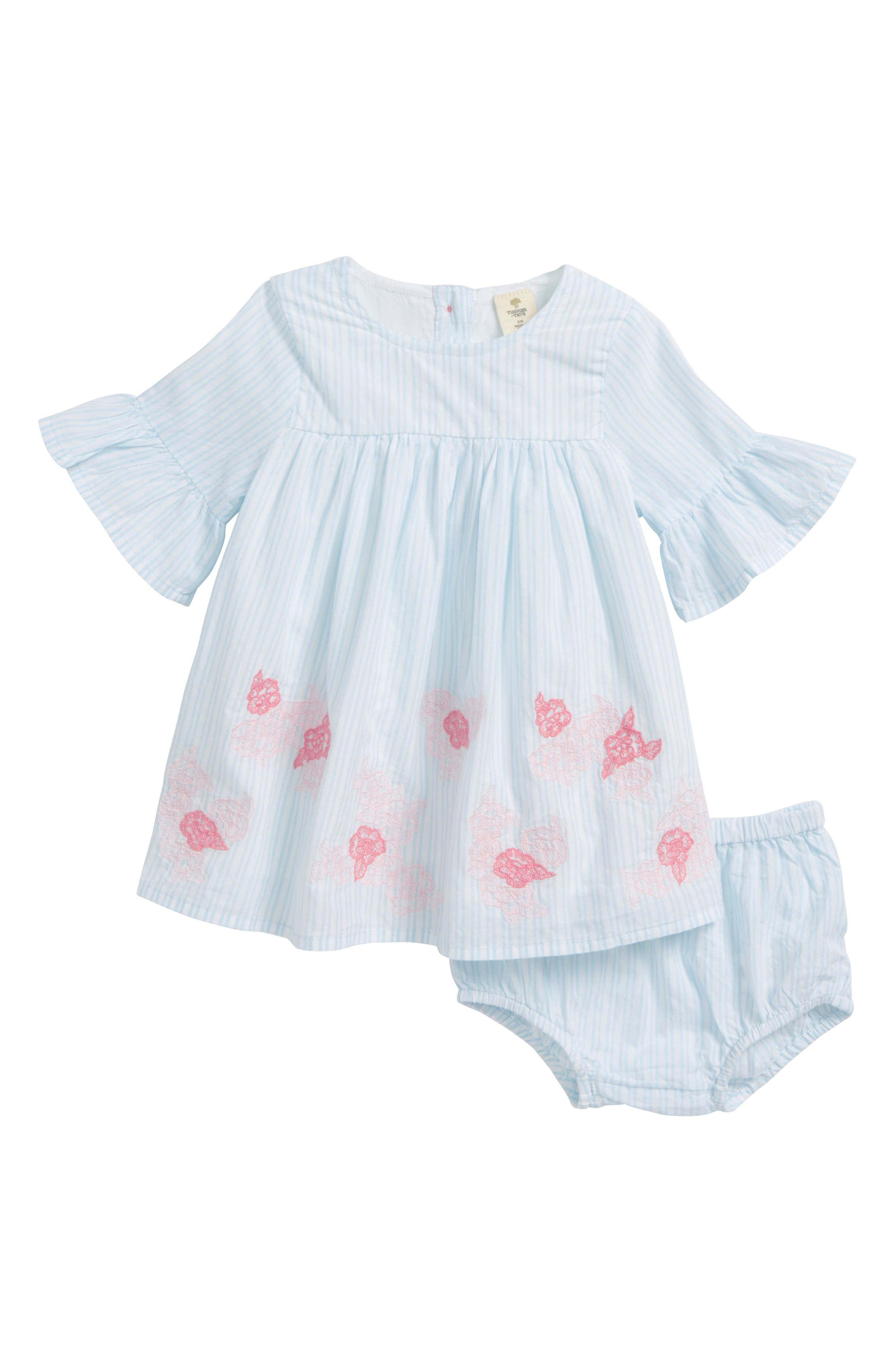Tucker + Tate Embroidered Dress (Baby Girls)