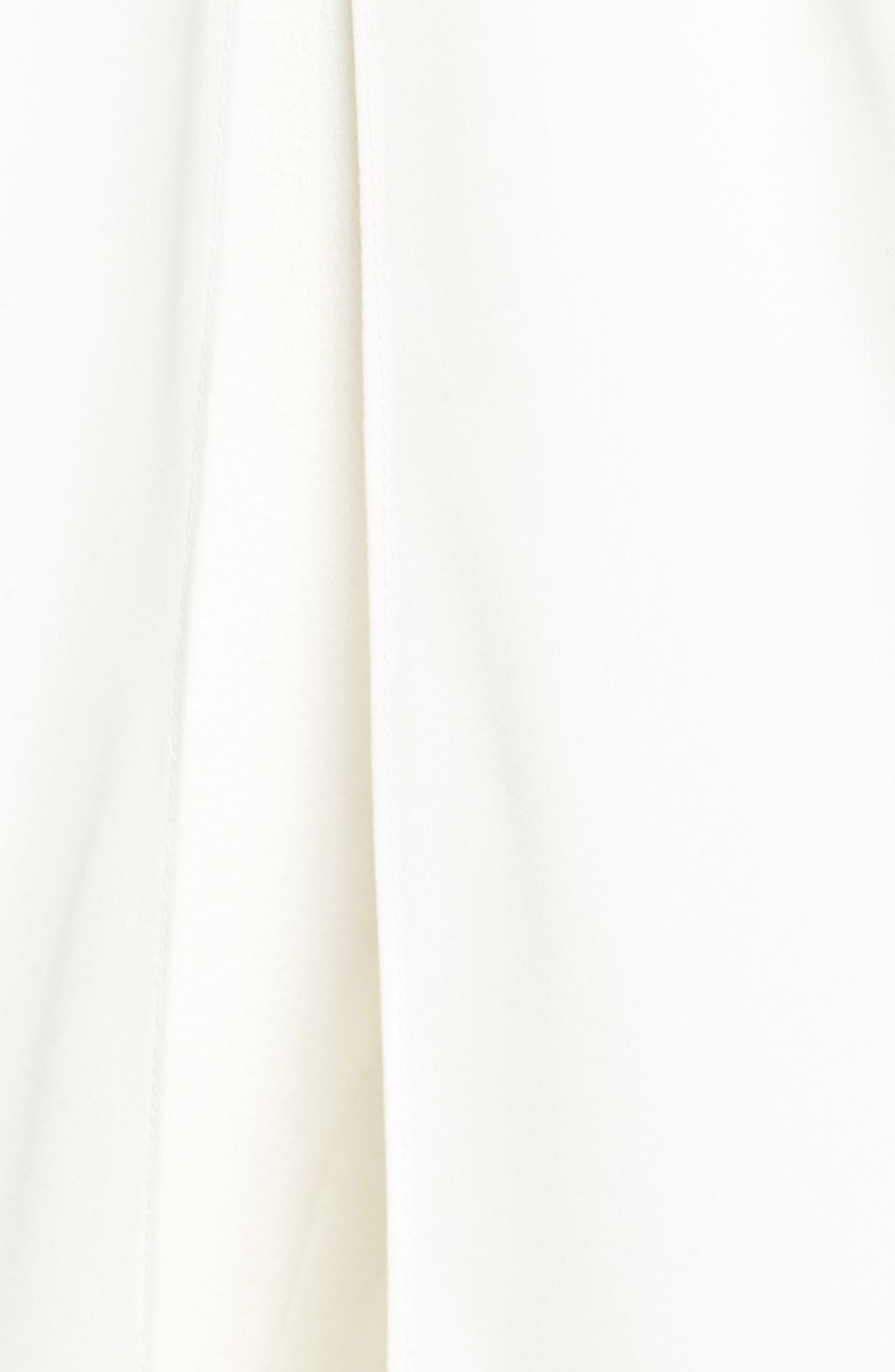 Koshibo Twist Front Maxi Jumpsuit,                             Alternate thumbnail 5, color,                             Ivory