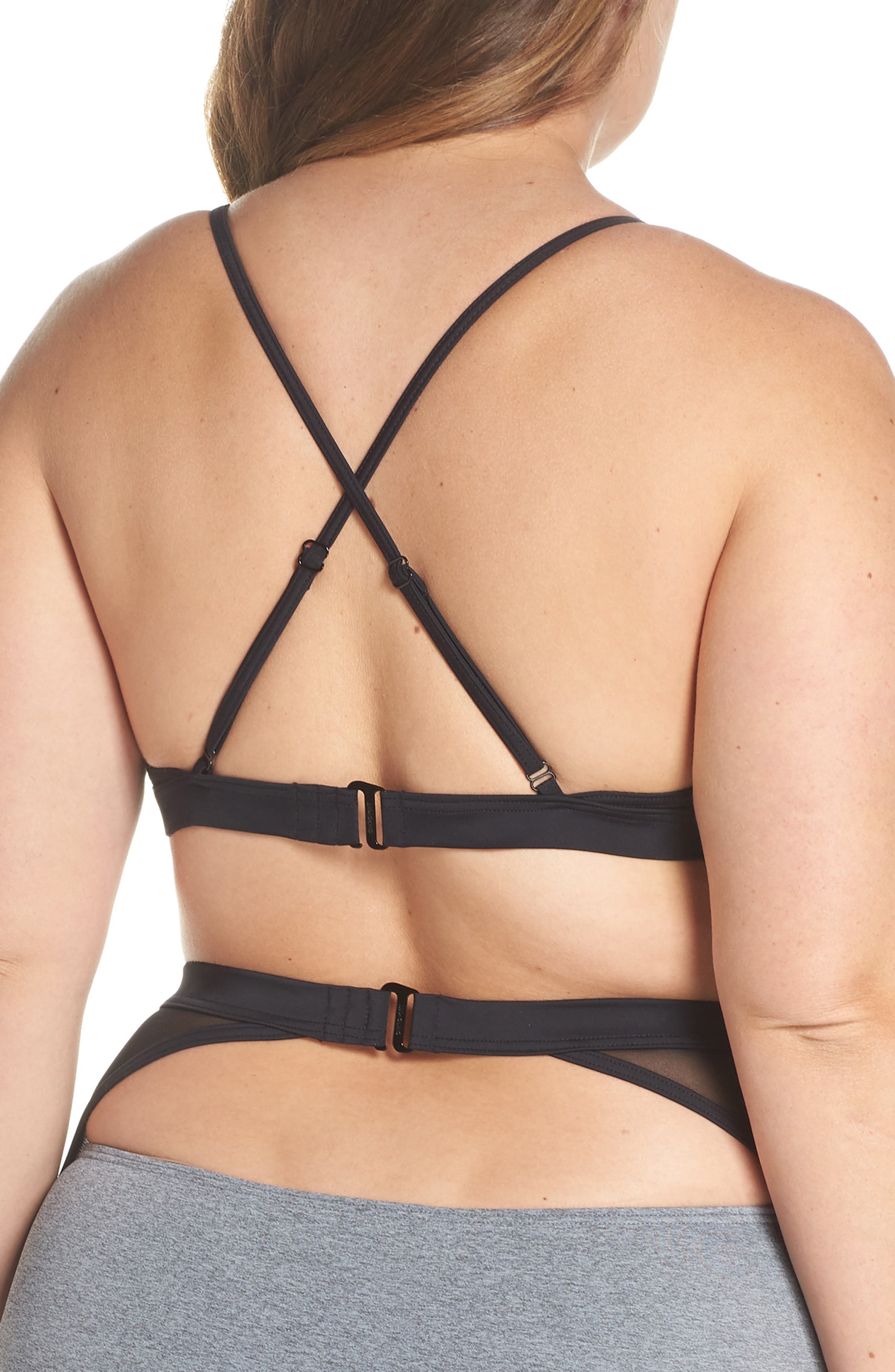 Alva Bikini Top,                             Alternate thumbnail 9, color,                             Heather Grey